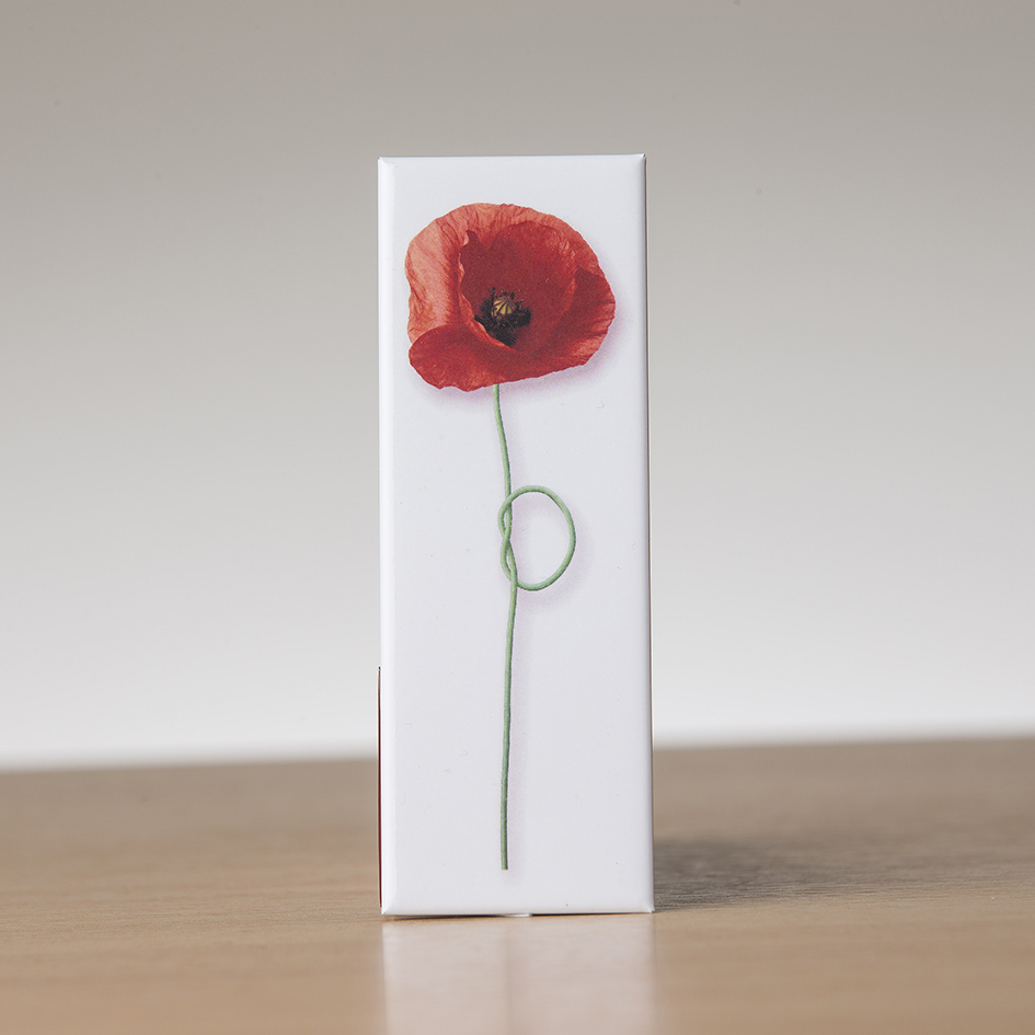 Field Poppy Fridge Magnet