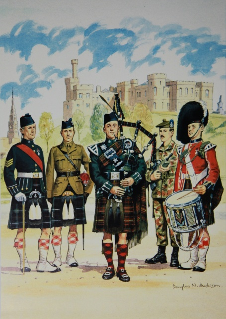 Seaforth Highlanders Glengarry Own Highlanders(seaforth