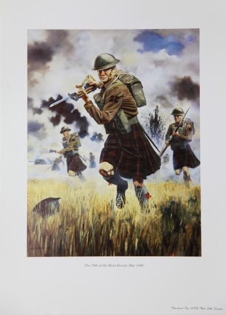 Kilt @ War Print -7