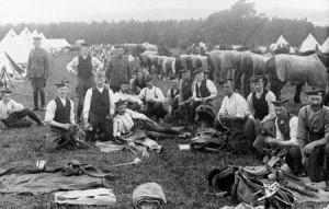 Lovat Scouts training near Beauly
