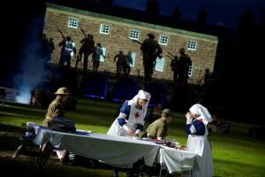 WW1 nurses scene