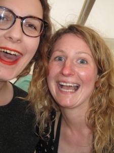 Katherine and Lindsay