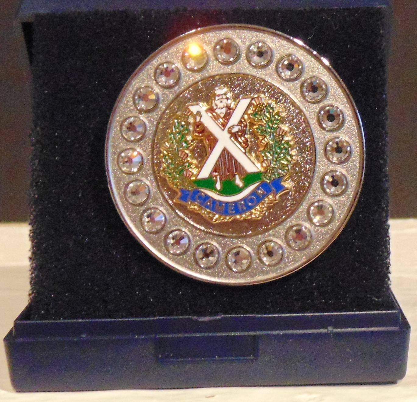 The Queens Own Cameron Highlanders Regimental Brooch
