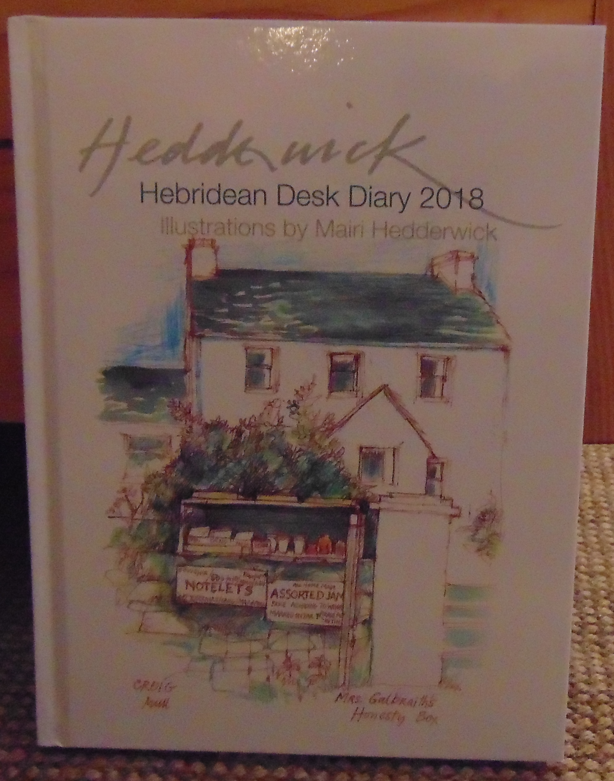 Hebridean Desk Diary 2018