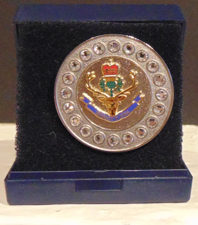The Queen's Own Highlanders Regimental Brooch