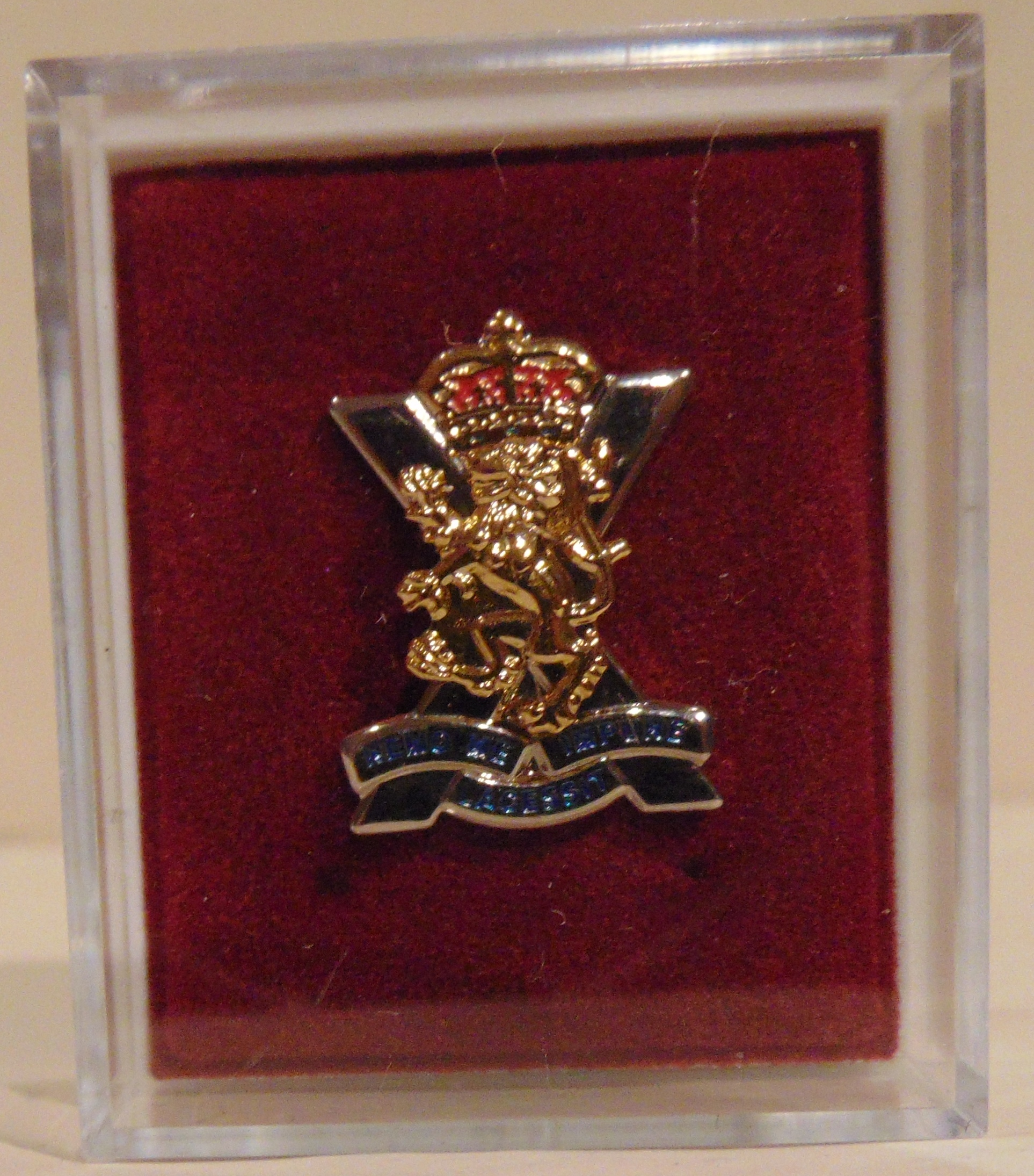 Royal Regiment of Scotland Lapel Badge