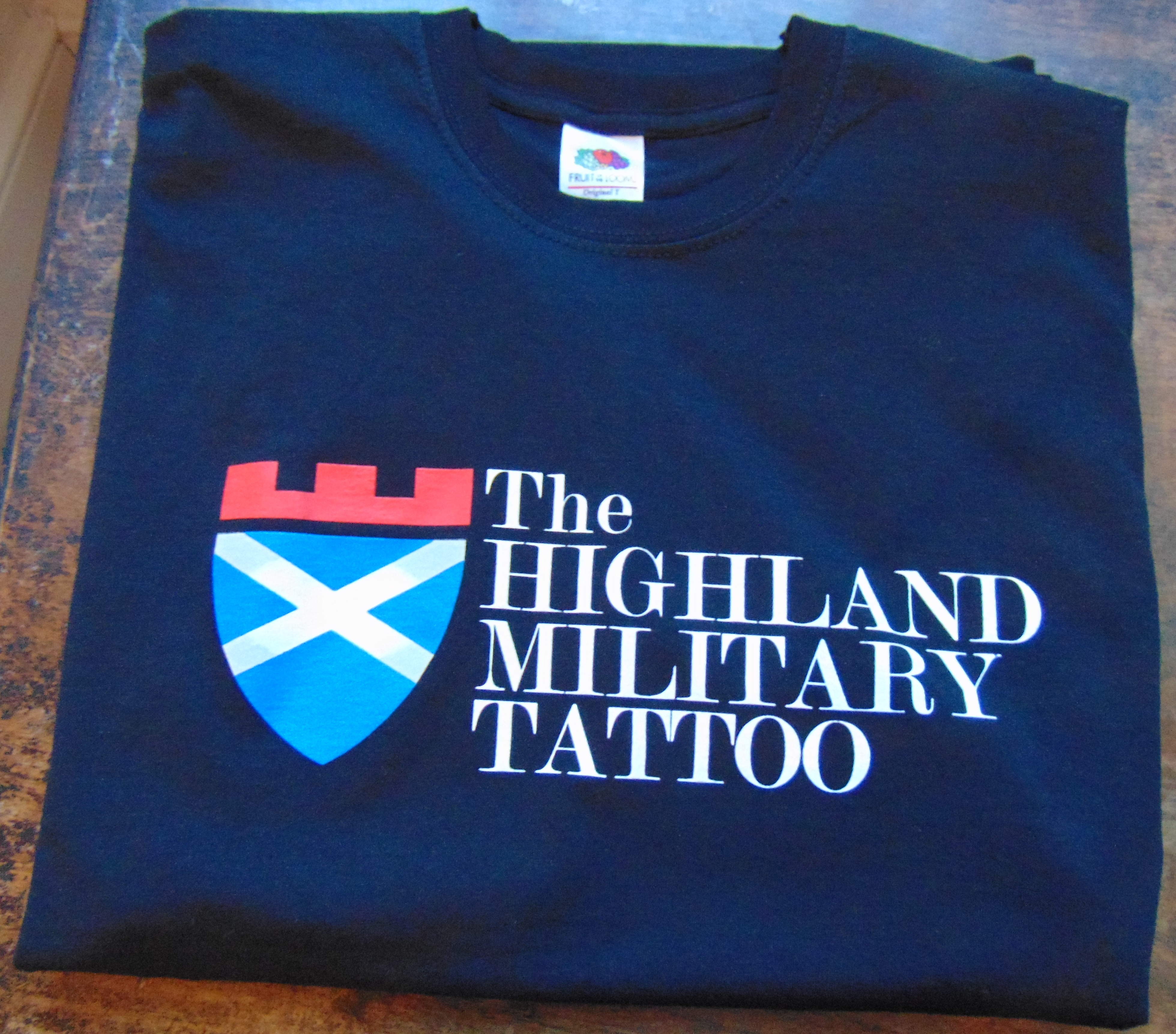 The Highland Military Tattoo T-Shirt - black