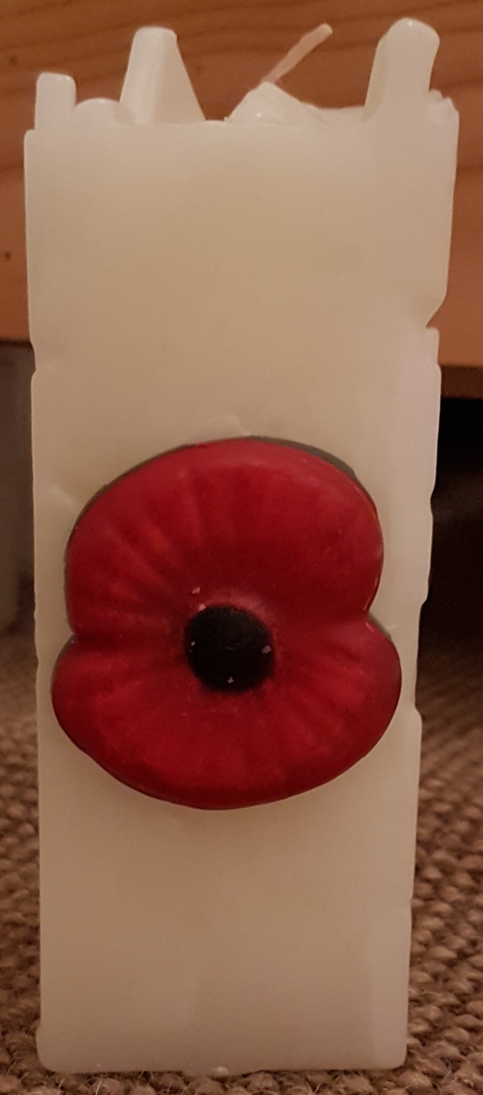 Poppy Candle (large)