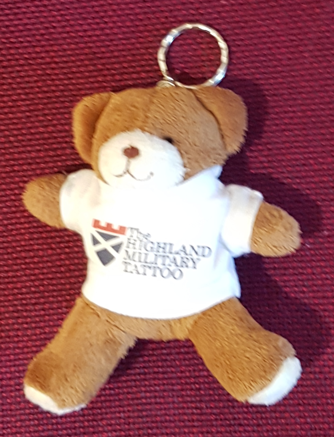 The Highland Military Tattoo Keyring