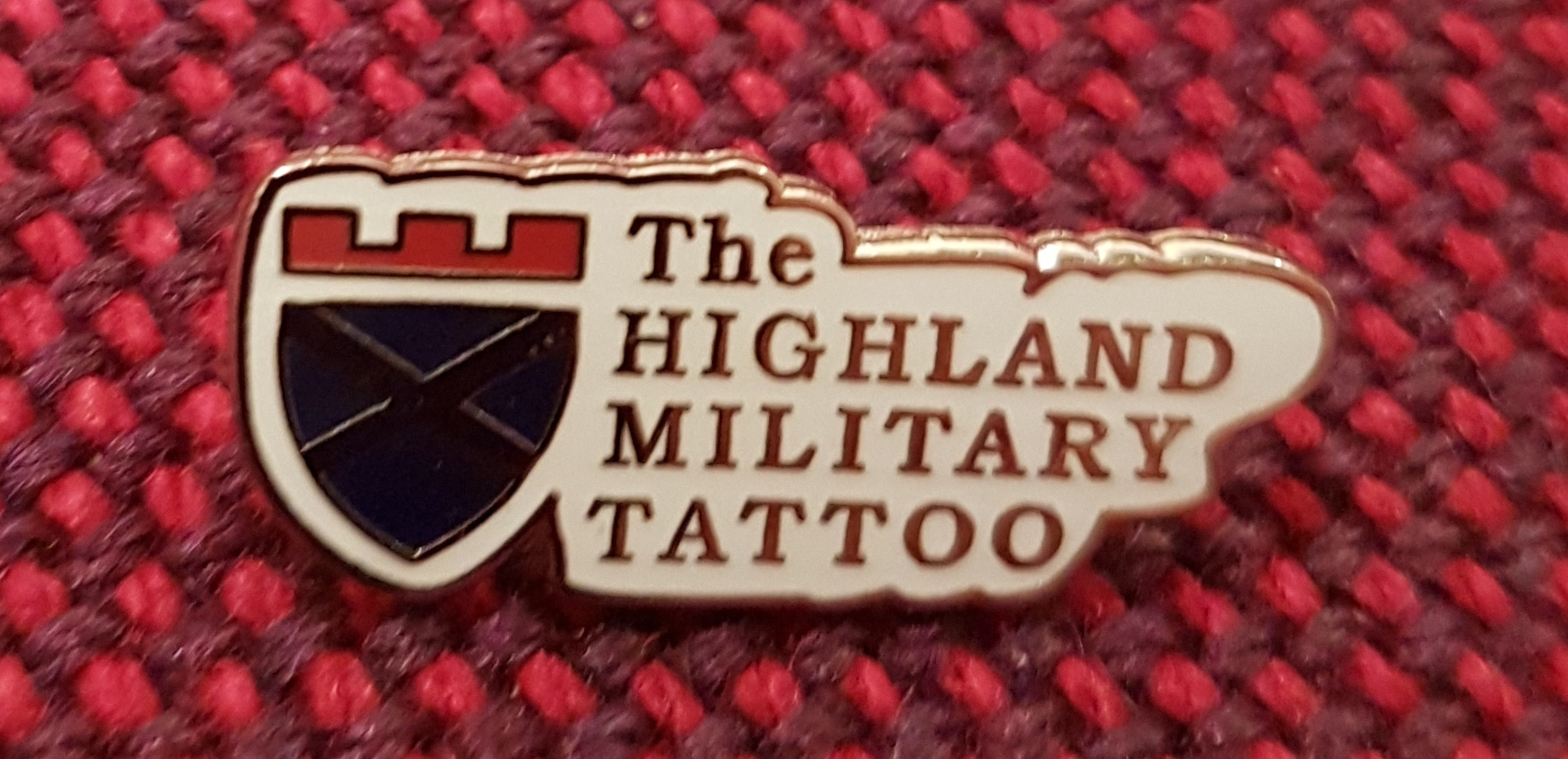 The Highland Military Tattoo Pin Badge