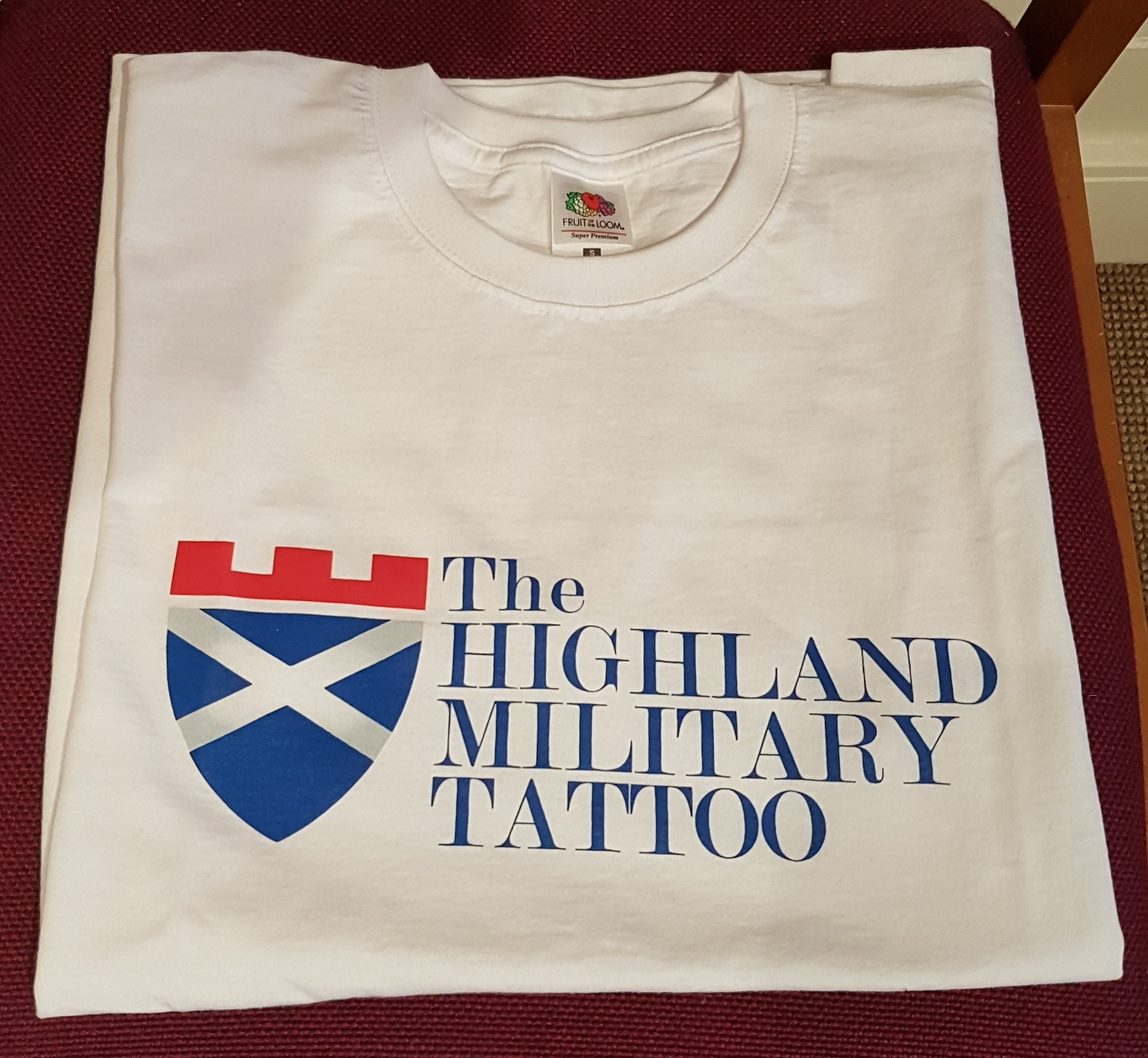 The Highland Military Tattoo White T-Shirt