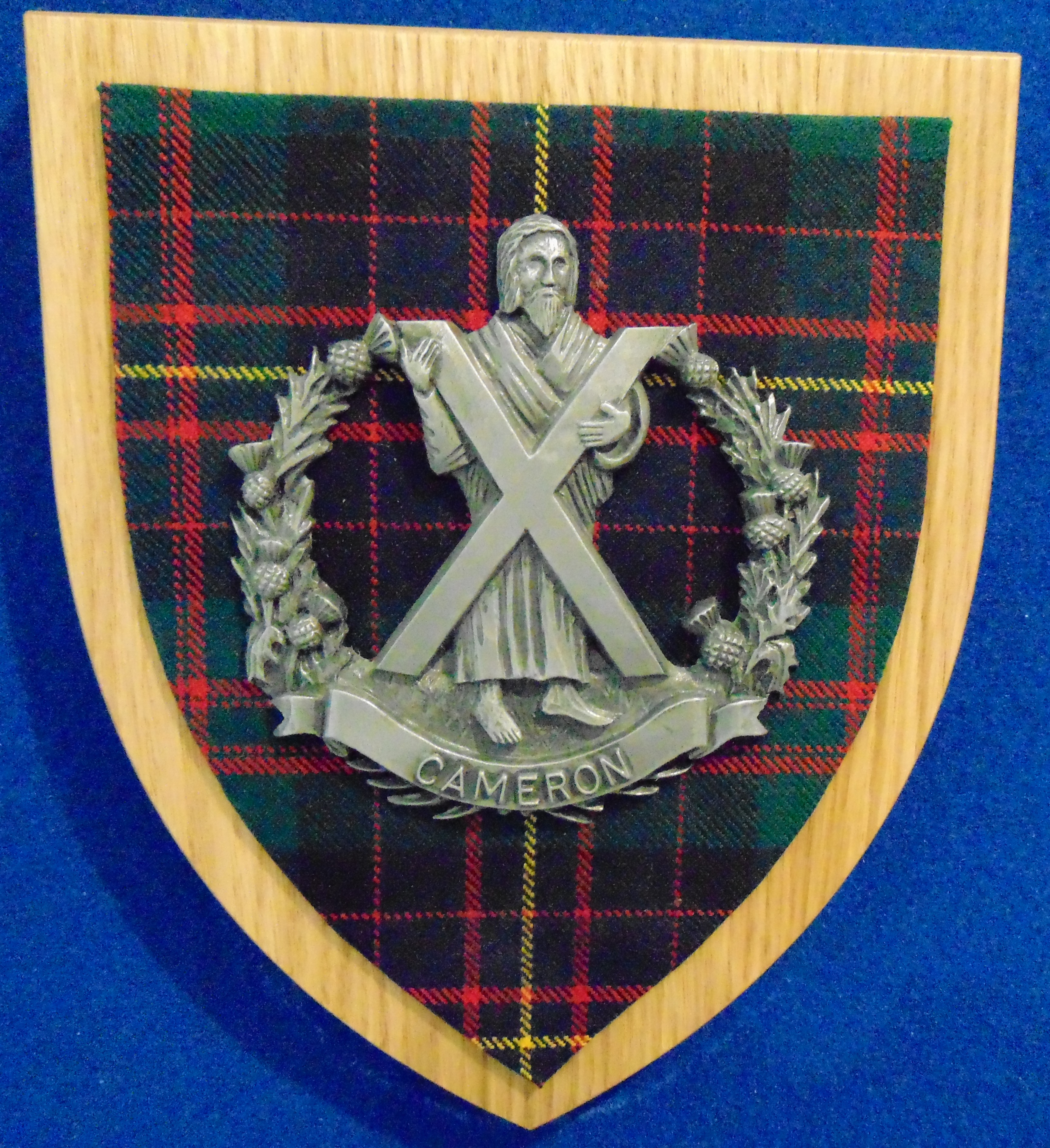 The Queen's Own Cameron Highlanders Wall Plaque