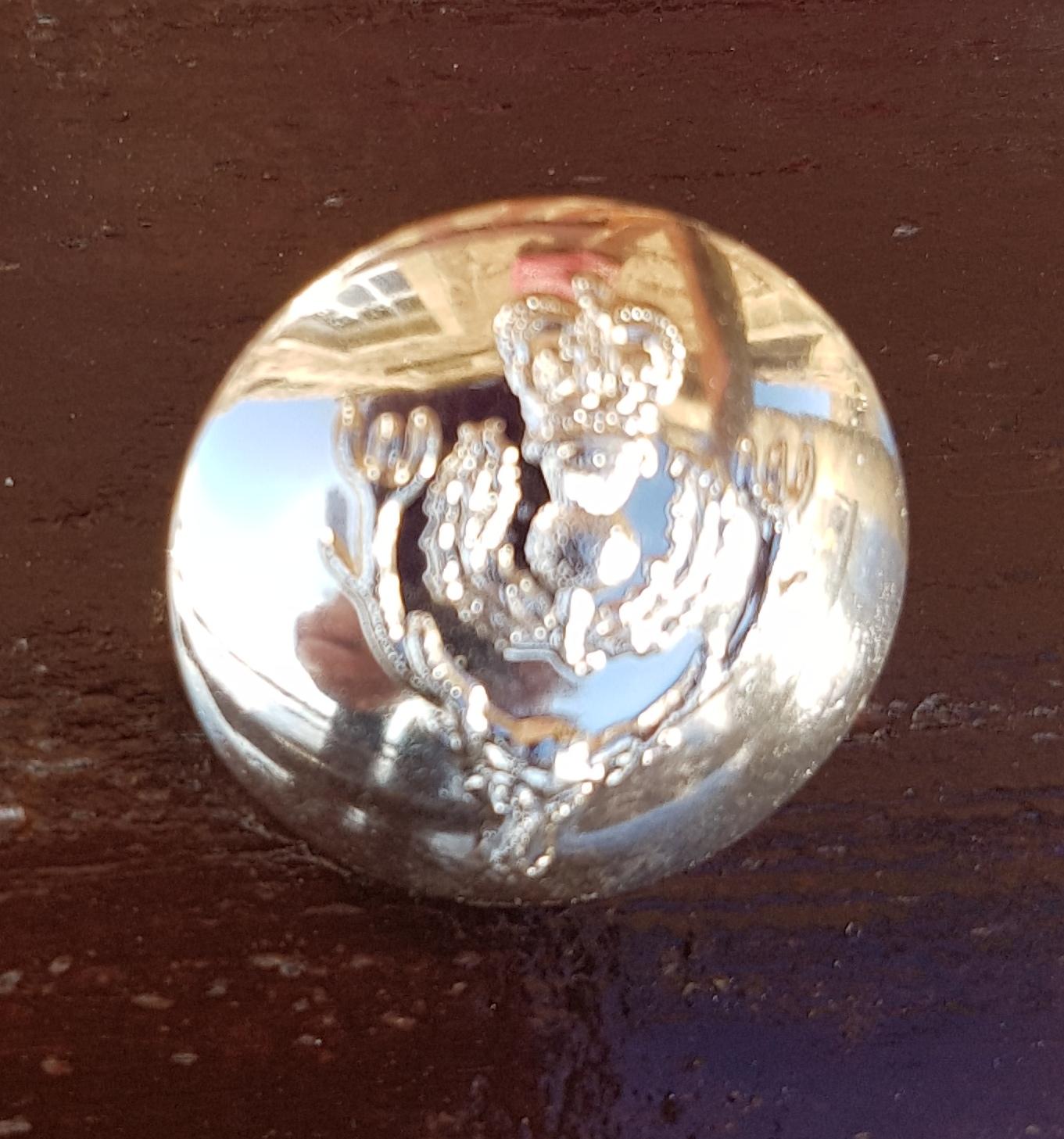 Queen's Own Highlander Oval Blazer Button (Large)