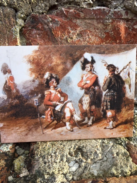 The 79th Cameron Highlanders, 1853 Christmas Card