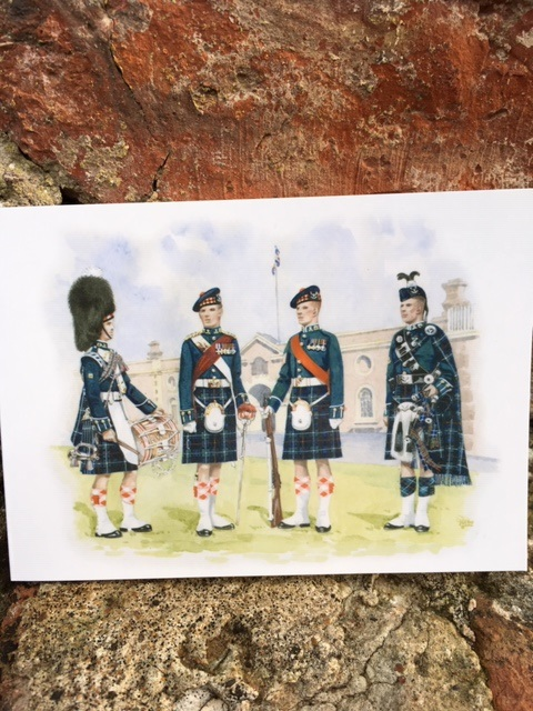 Seaforth Highlanders 1960 Christmas Card