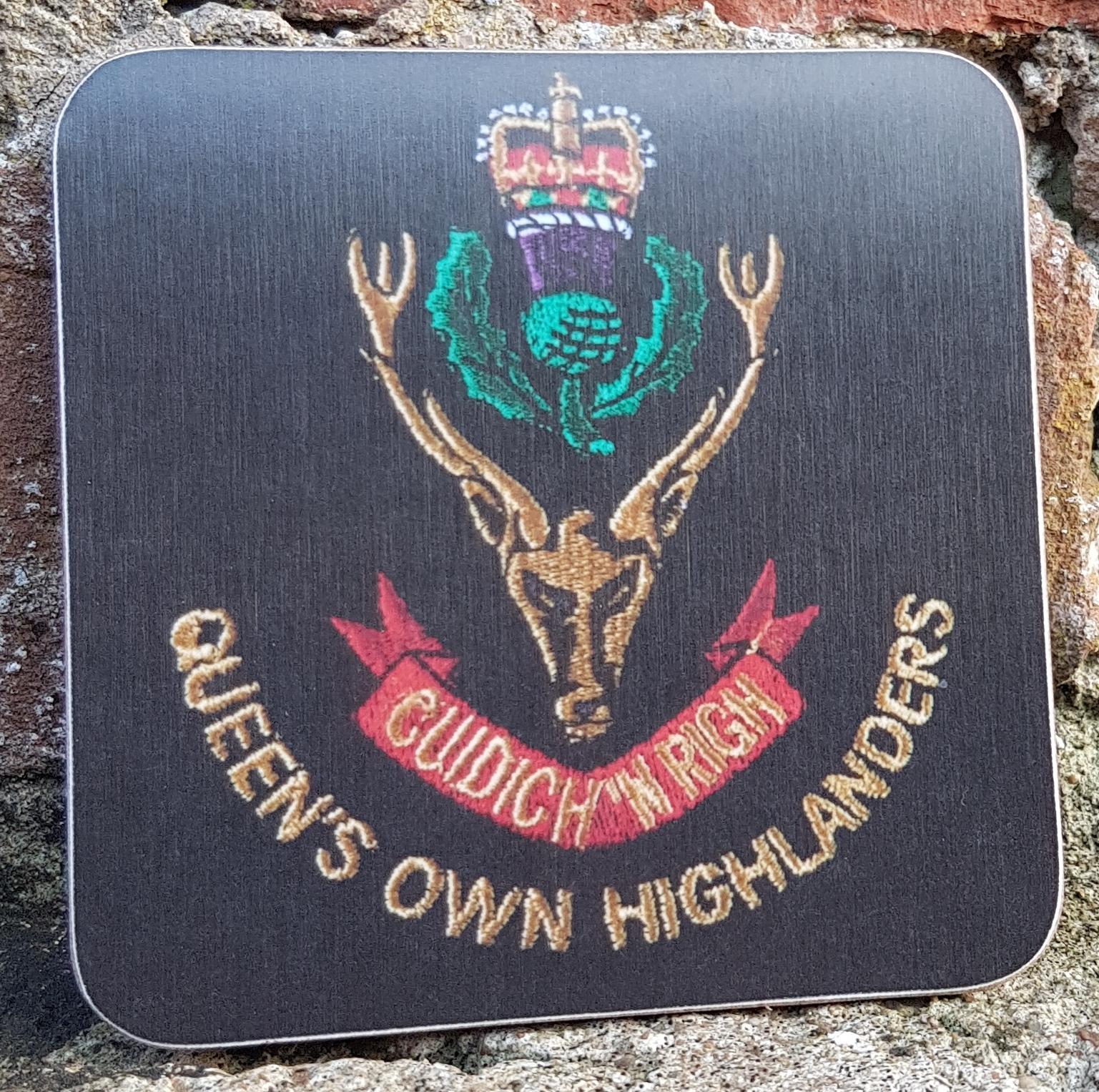 Queen's Own Highlander Coaster