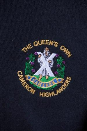 The Queen's Own Cameron Highlanders  Polo Shirt