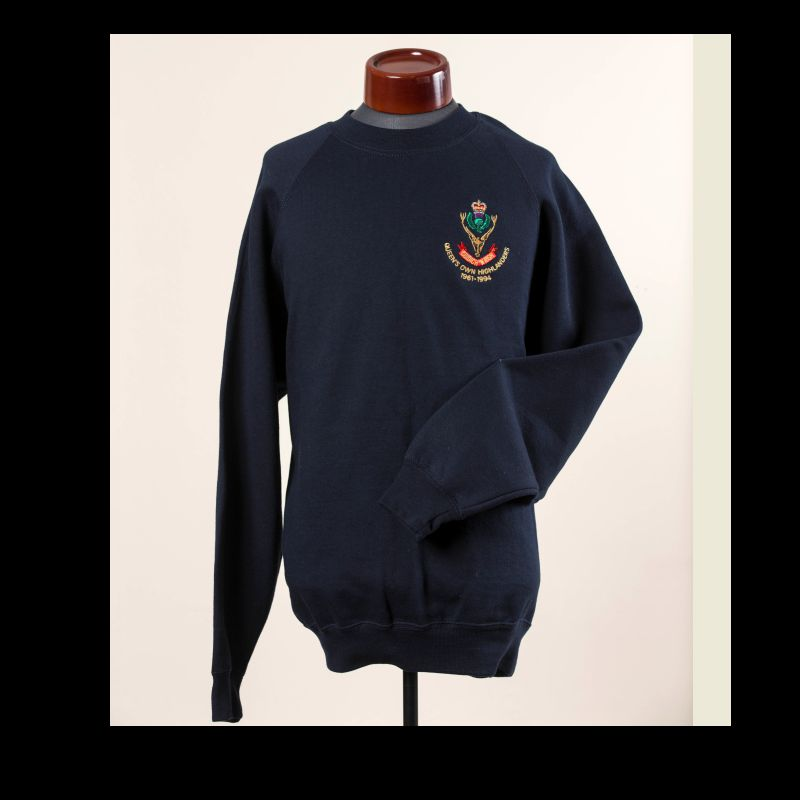 Queen's Own Highlanders  (Seaforth and Camerons)  Sweatshirt