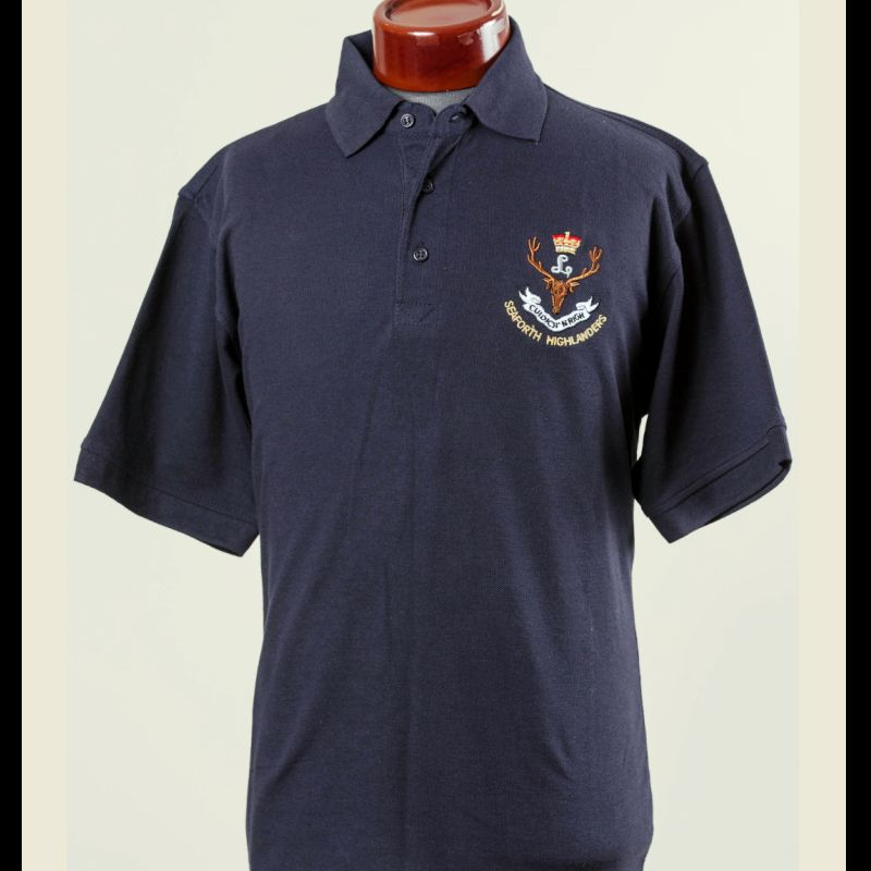 Seaforth Highlanders Polo Shirt