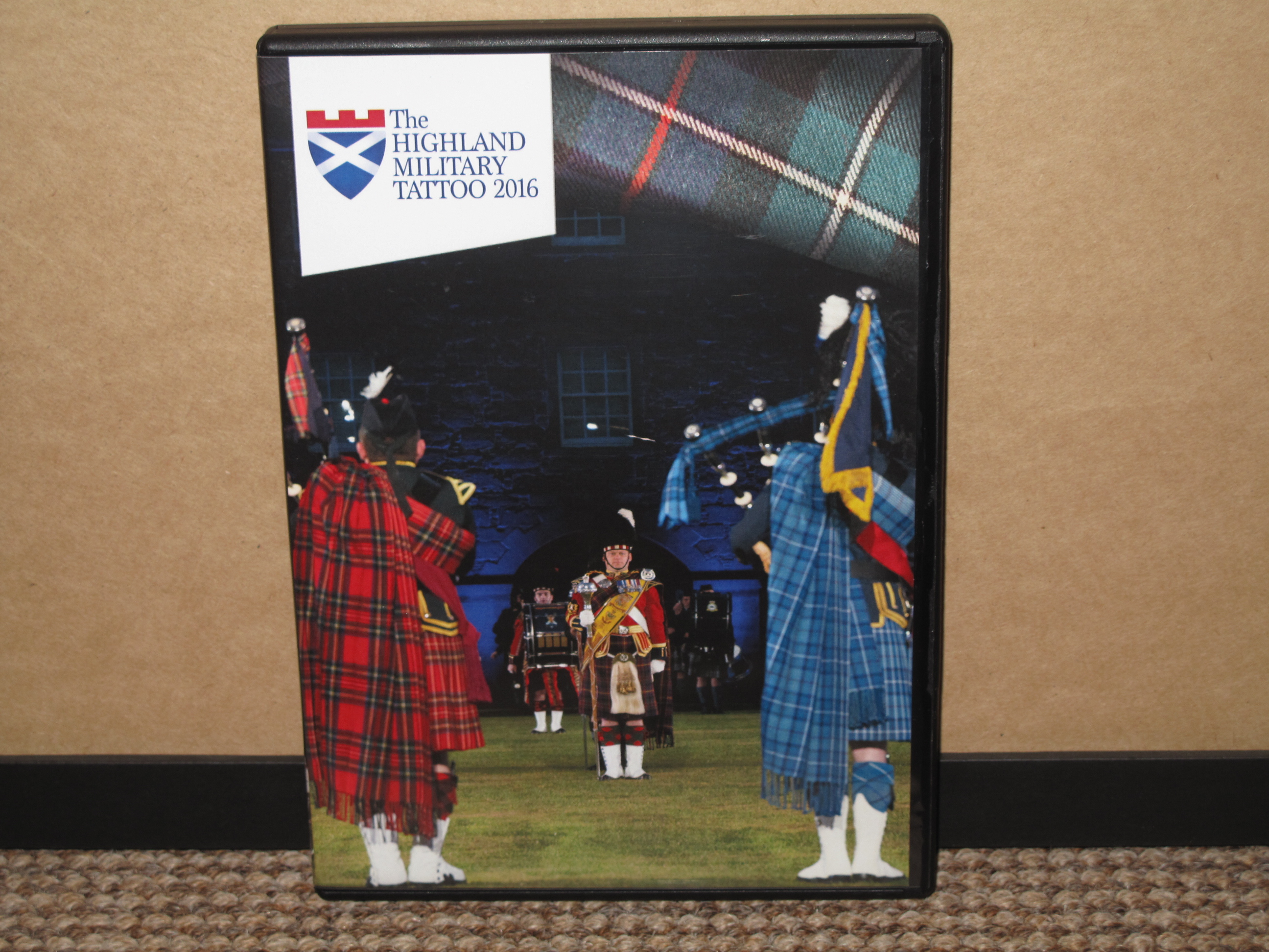 The Highland Military Tattoo DVD 2016