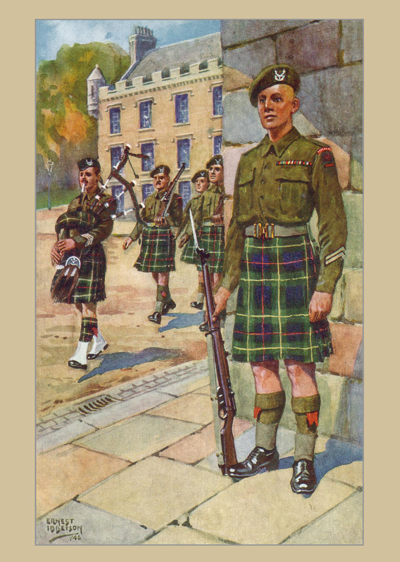 Card - Seaforth Highlanders