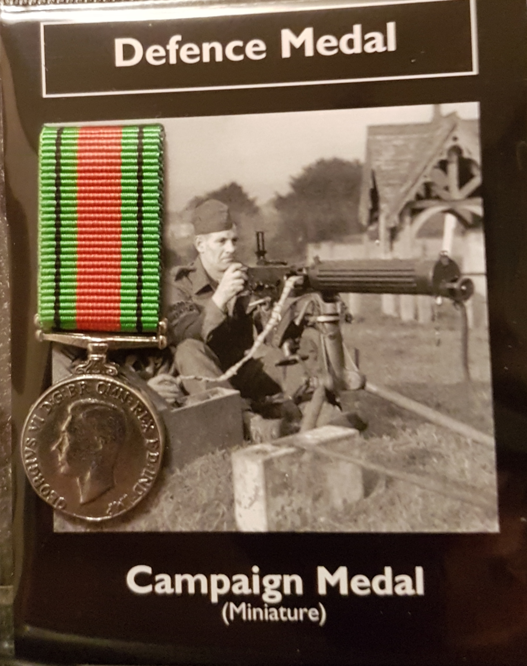 Defence Medal - miniature