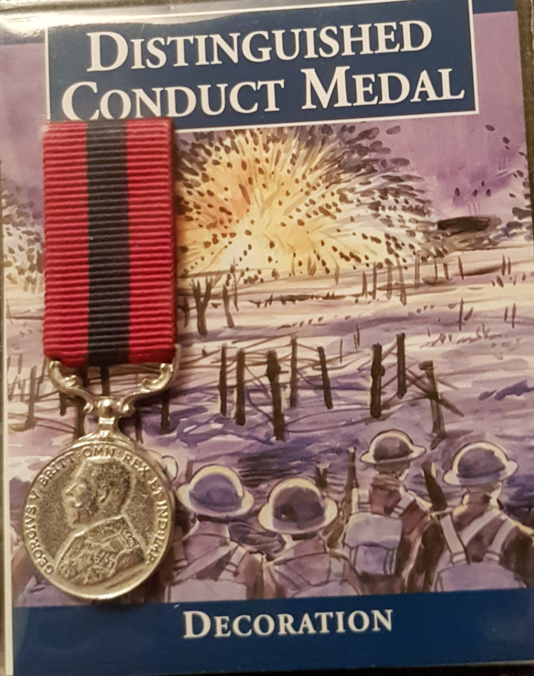 Distinguished Conduct Medal - miniature