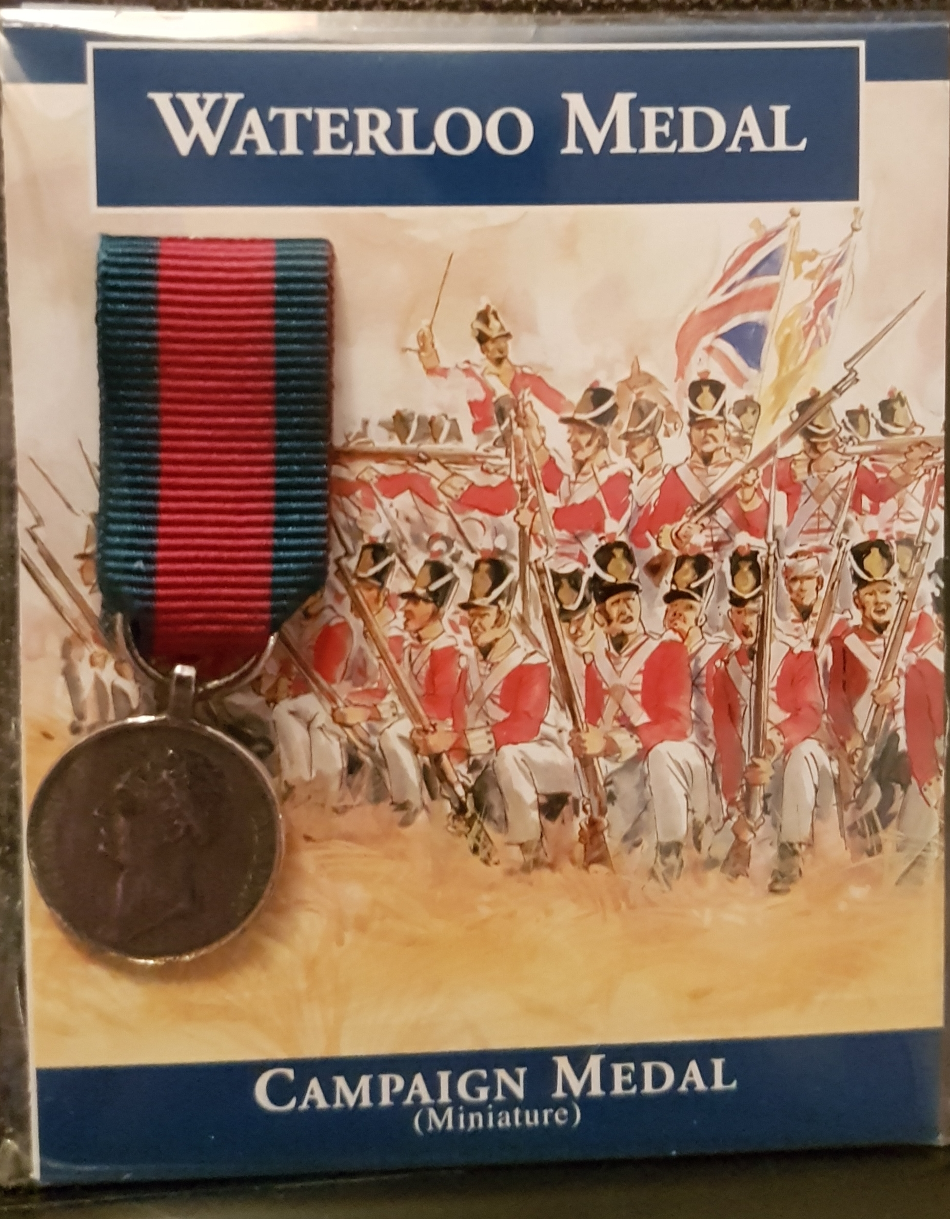 Waterloo Medal - miniature
