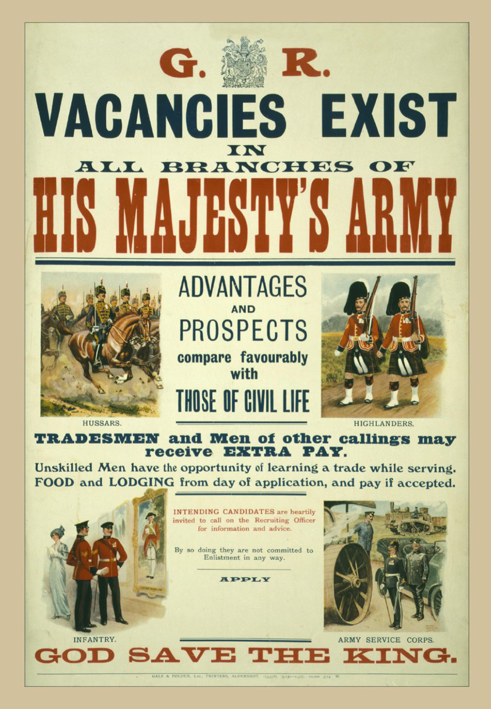 Vacancies Exist Postcard