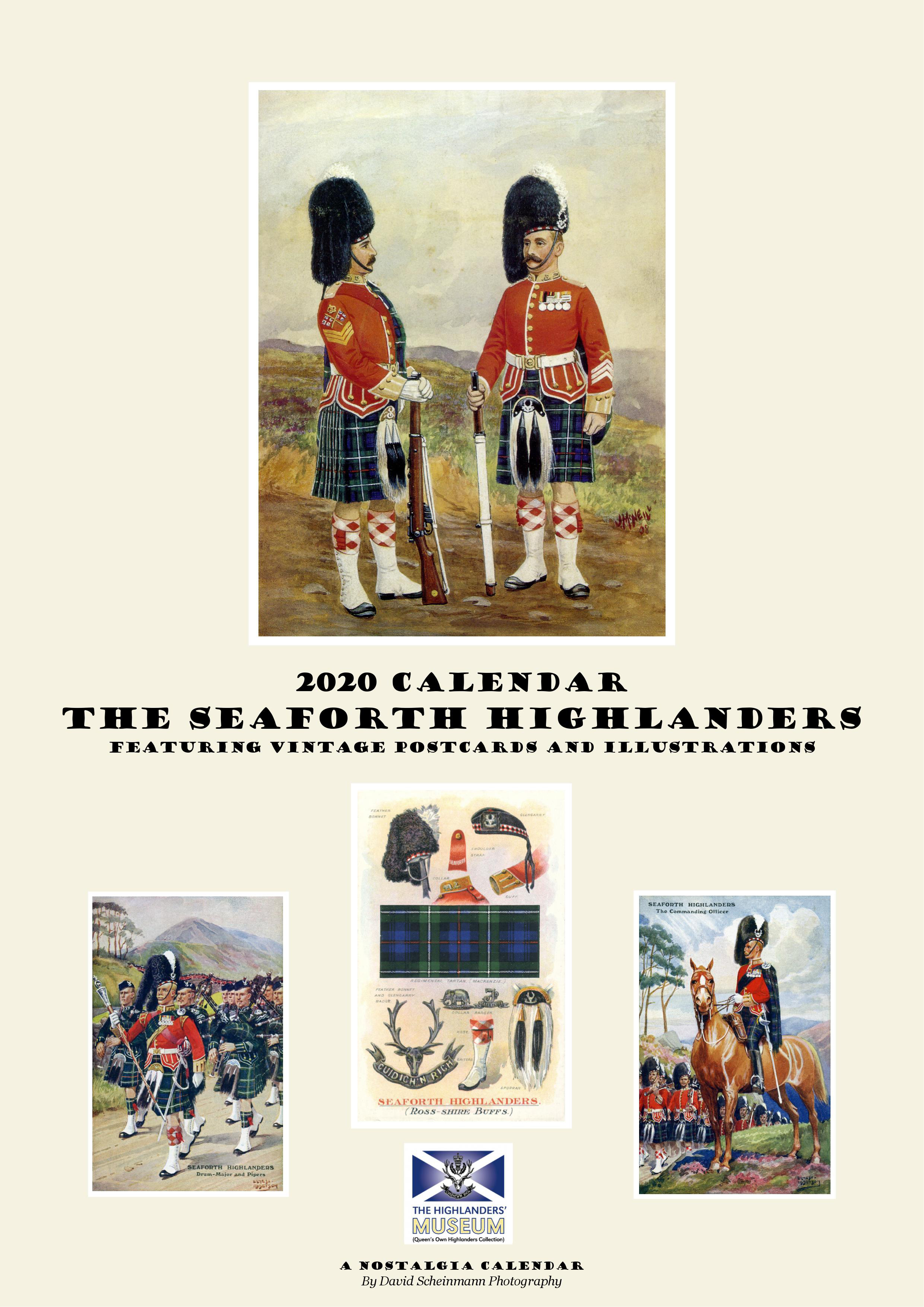 The Seaforth Highlanders 2020 Calendar