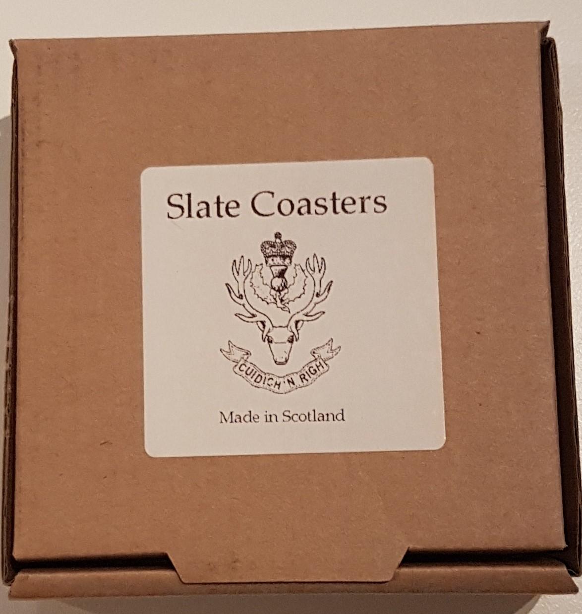 Slate Coasters x 4