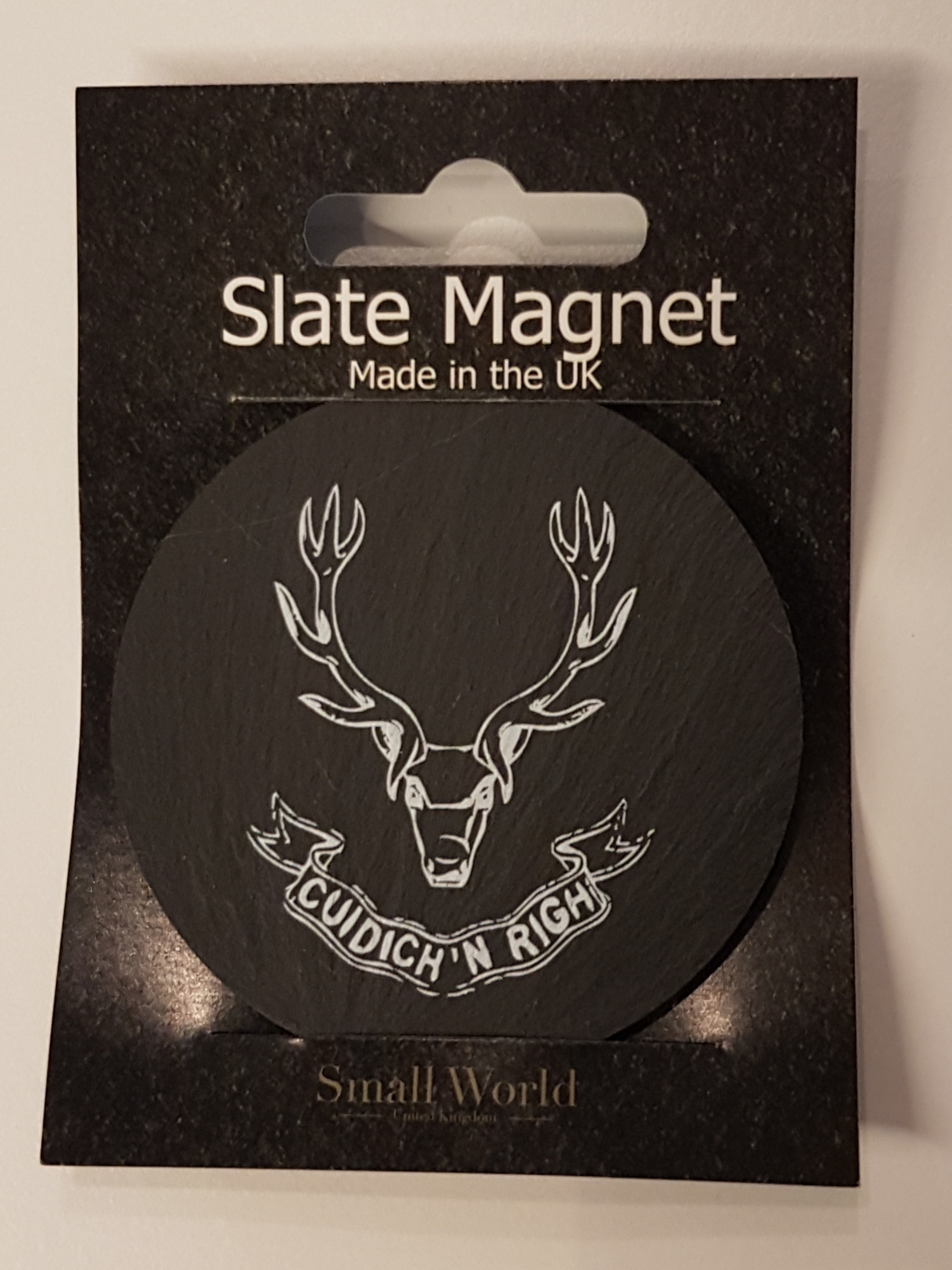 Slate Magnet - The Seafoth Highlanders