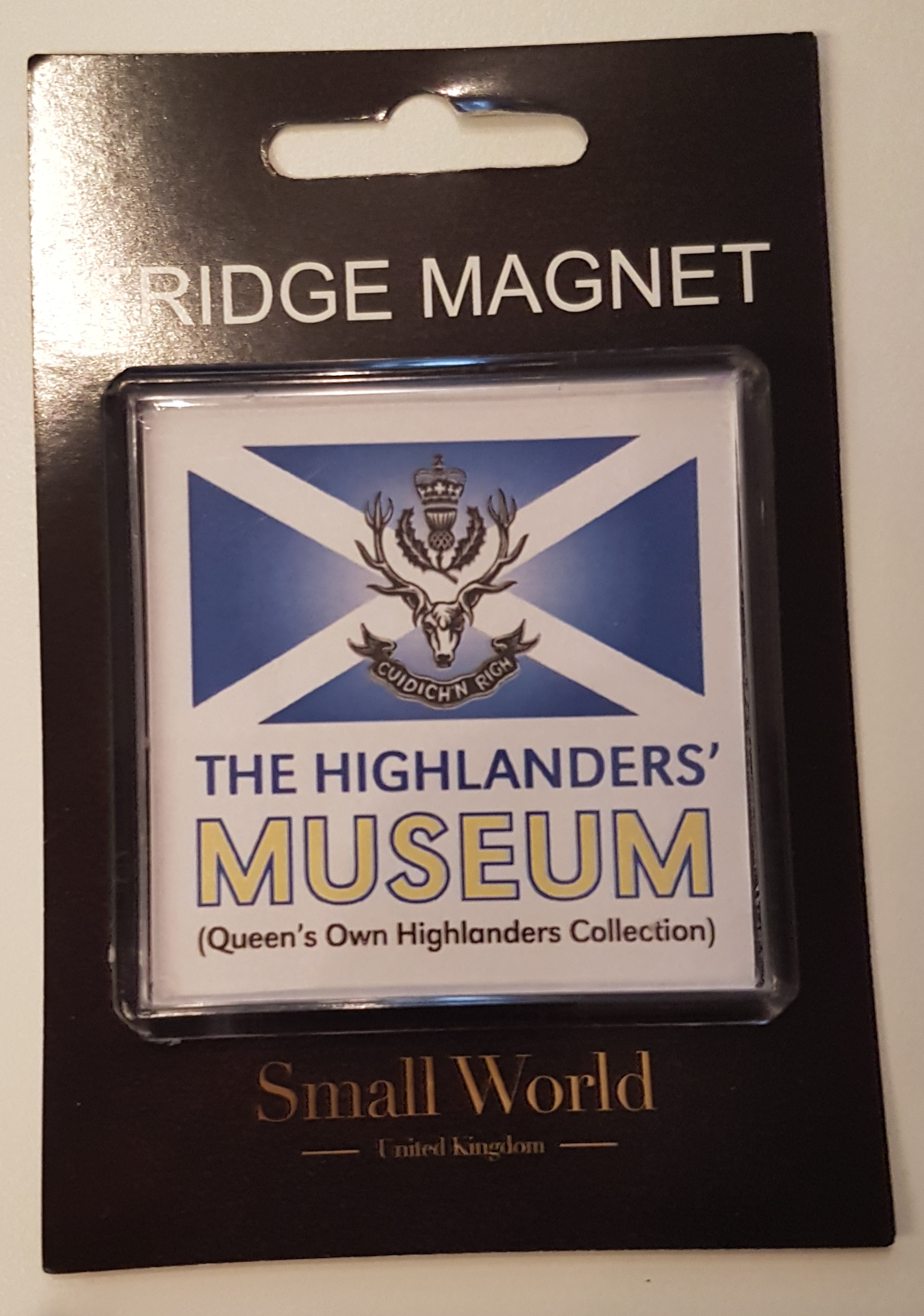 The Highlanders' Museum Fridge Magnet