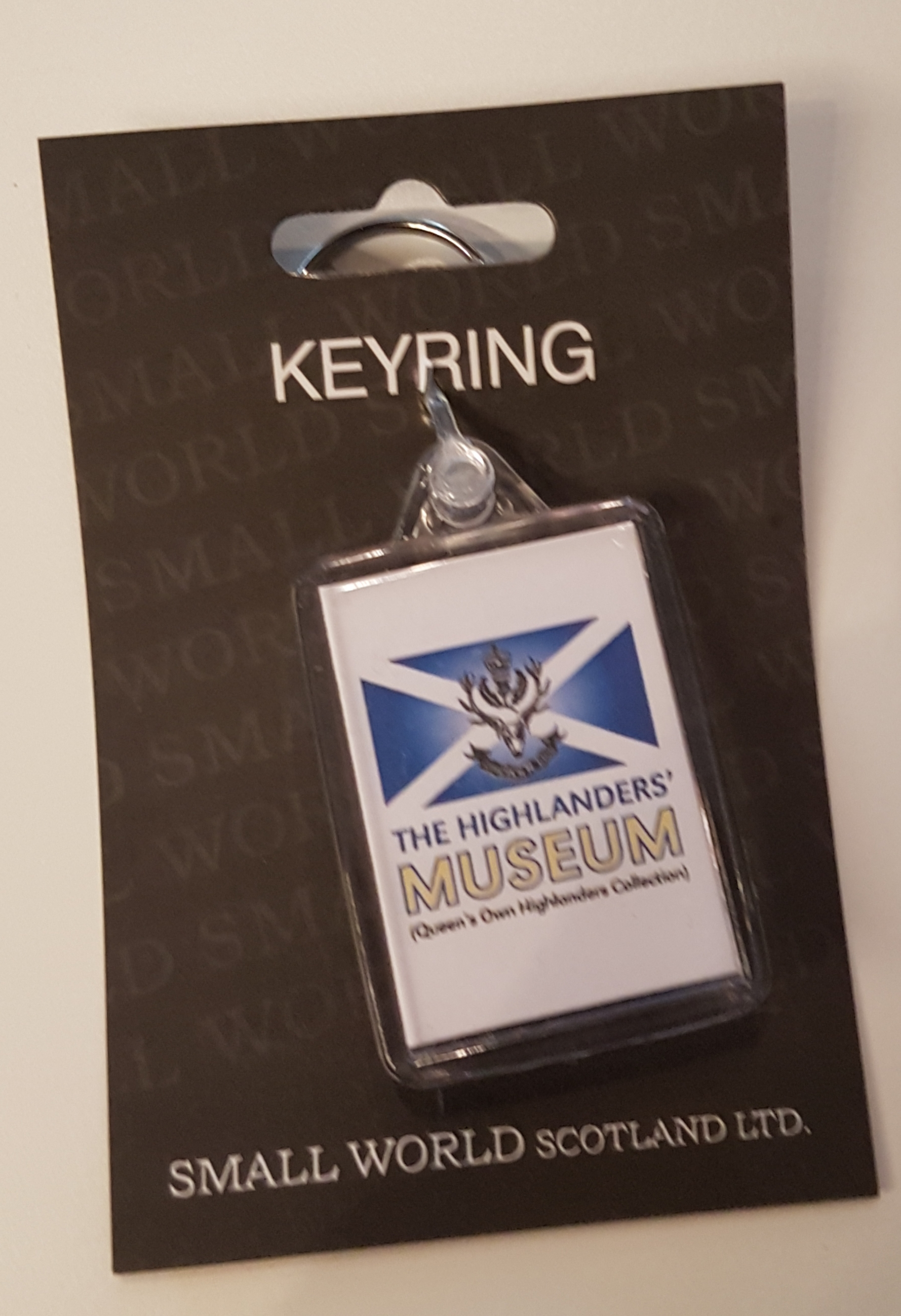 The Highlanders' Museum Keyring
