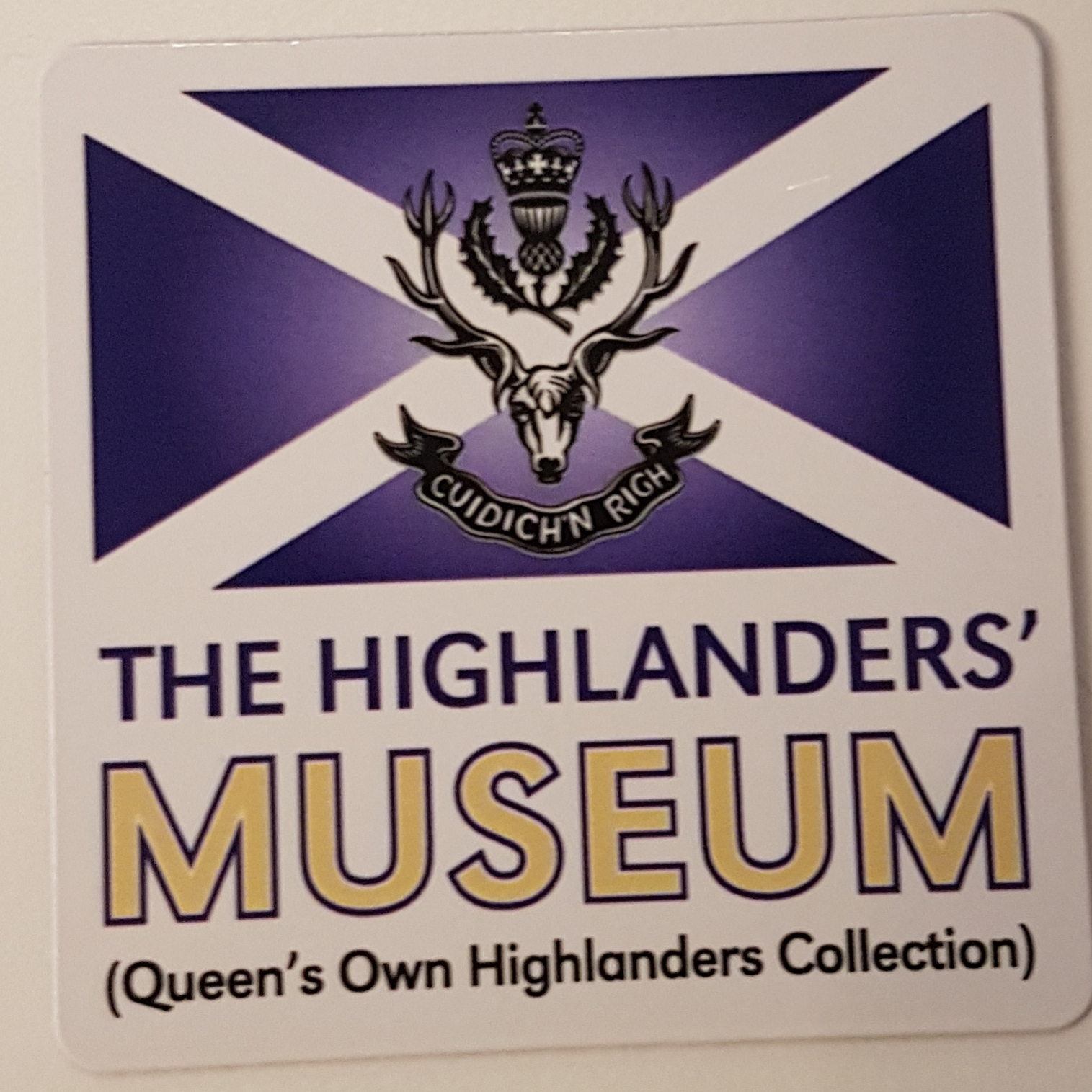 The Highlanders' Museum Magnet