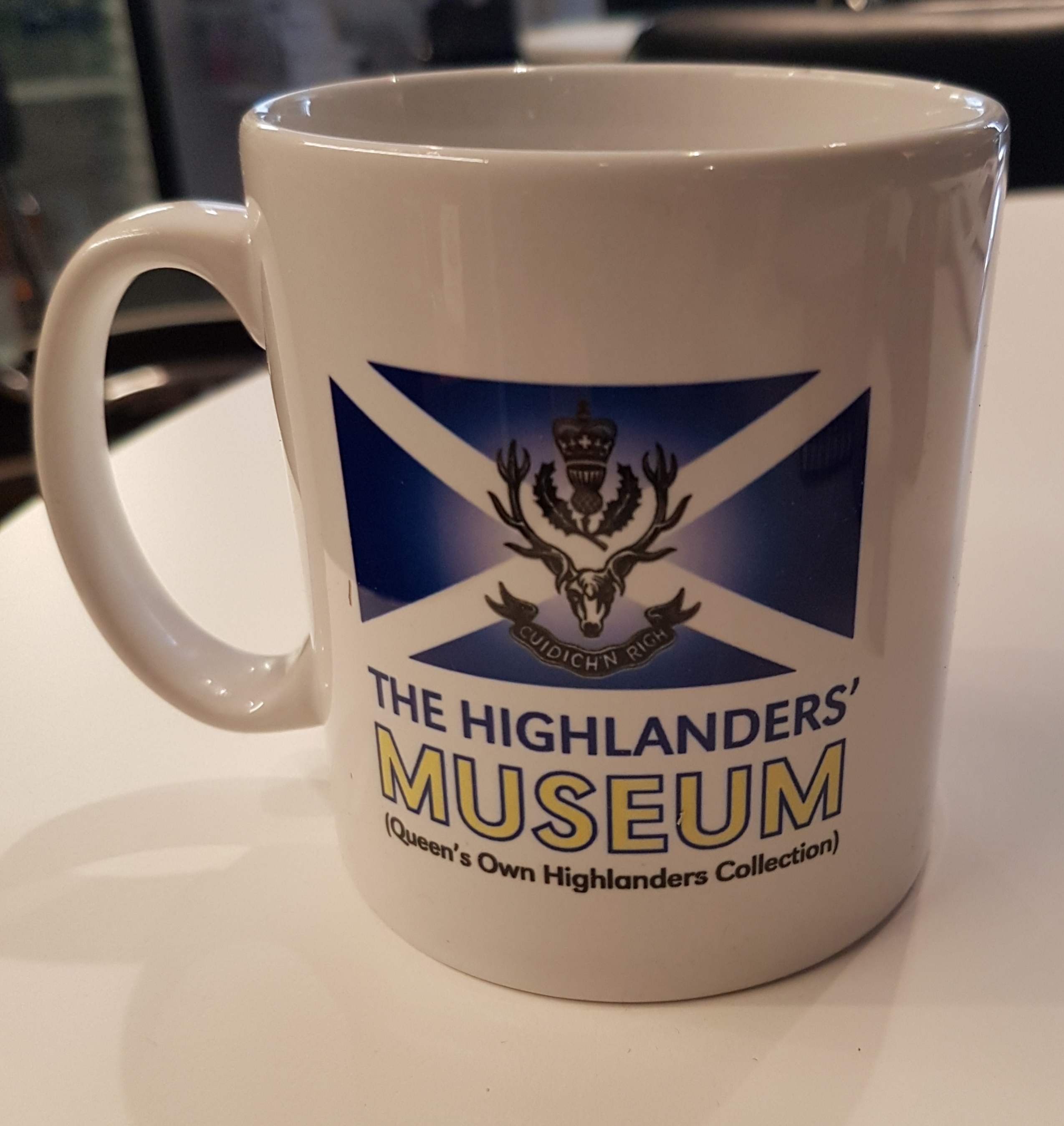 The Highlanders' Museum Mug