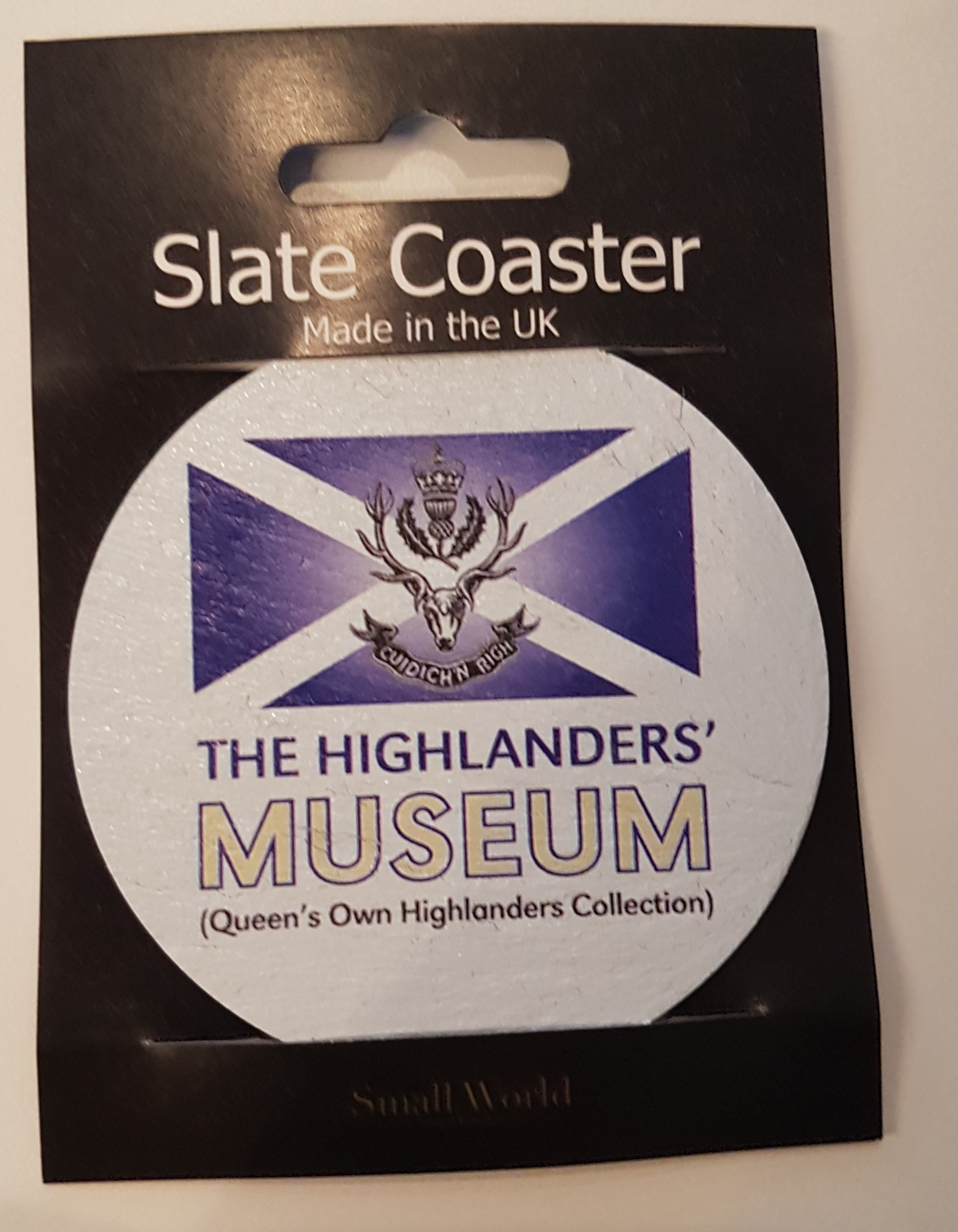 The Highlanders' Museum Slate Coaster