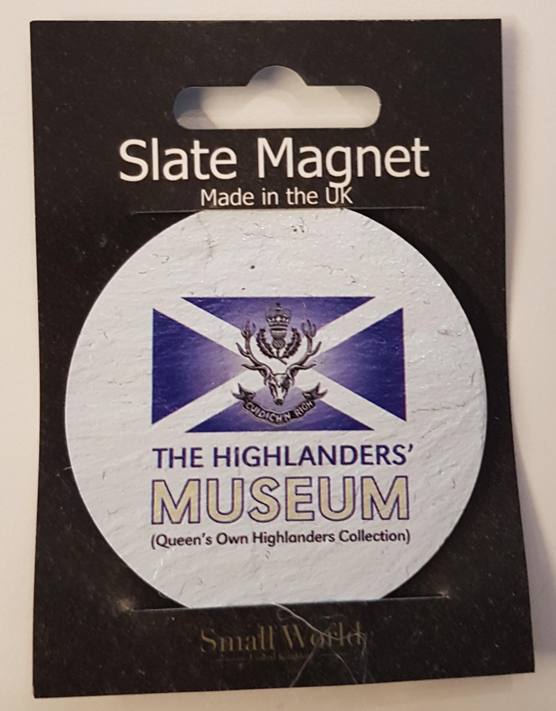 The Highlanders' Museum Slate Magnet