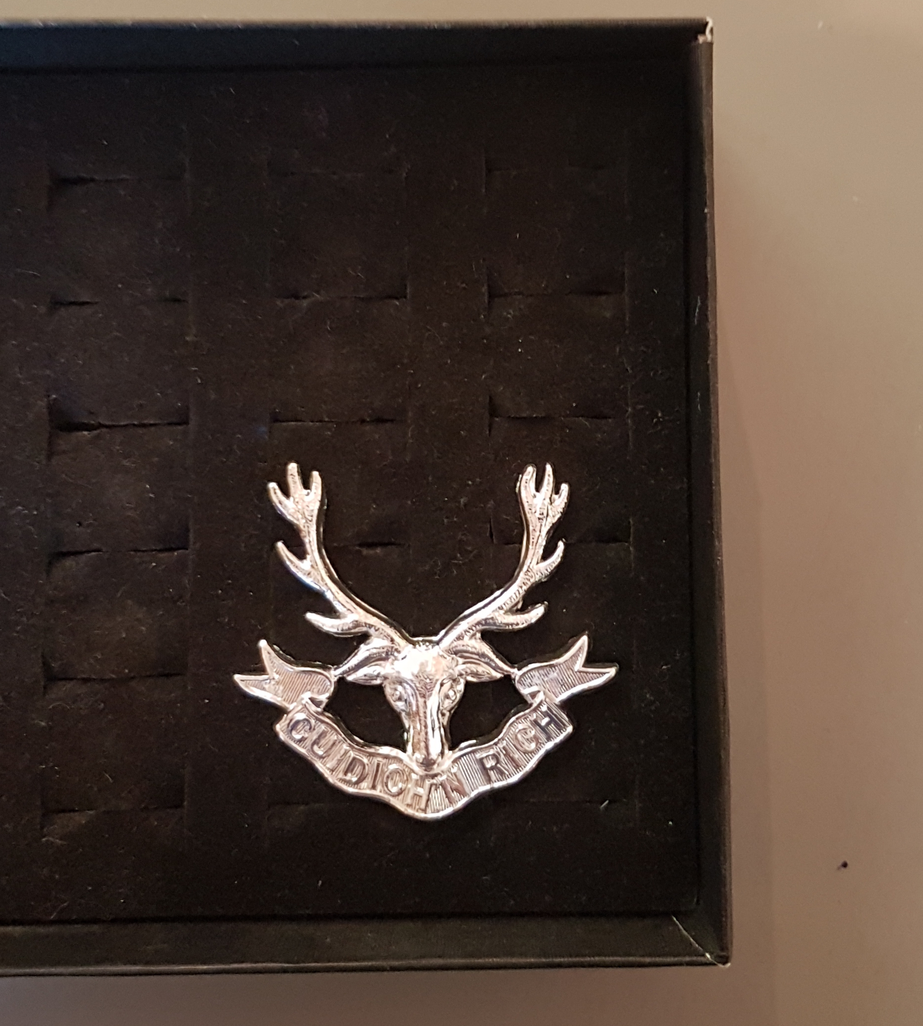 Seaforth Highlanders Cap Badge