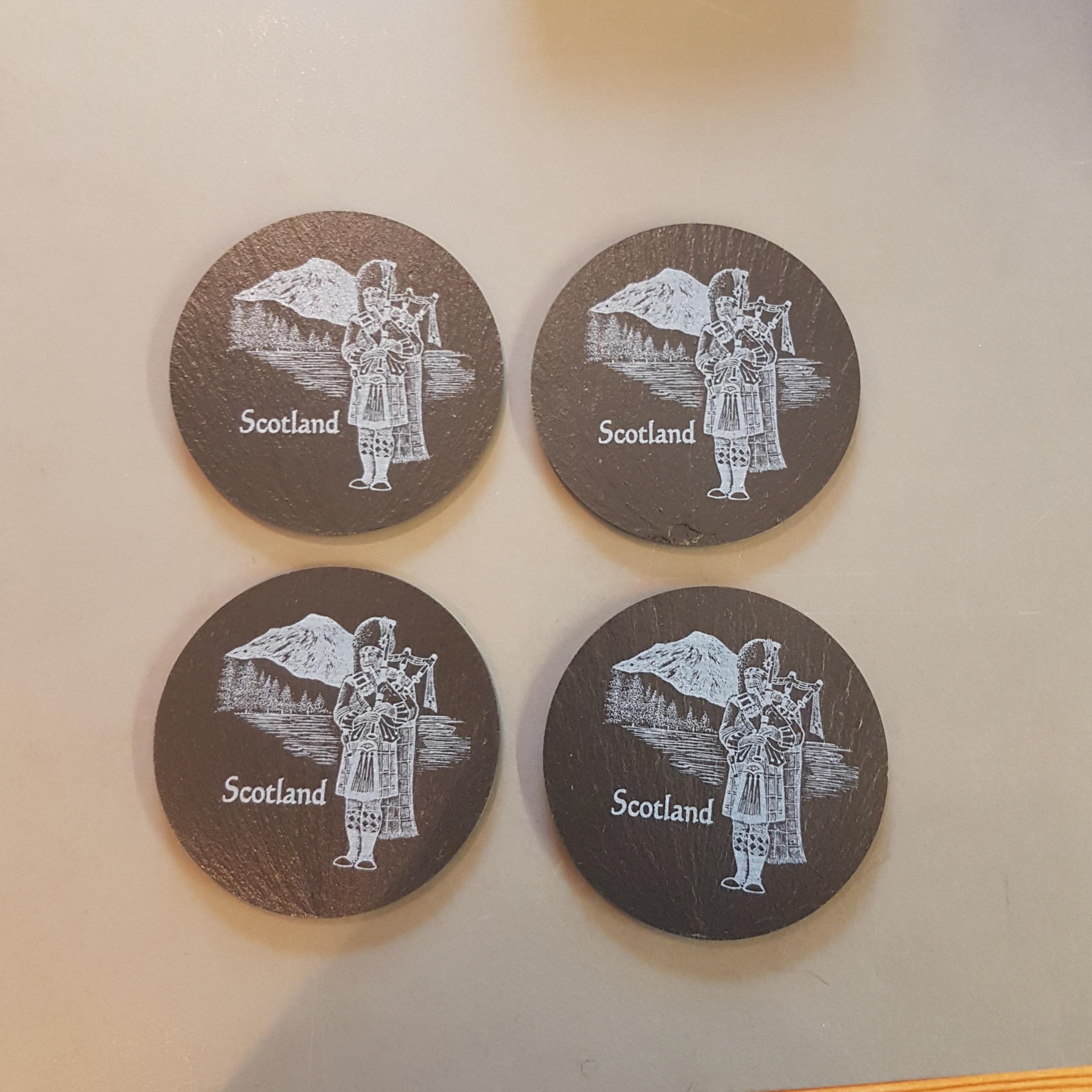 Slate Coasters x 4 - Piper