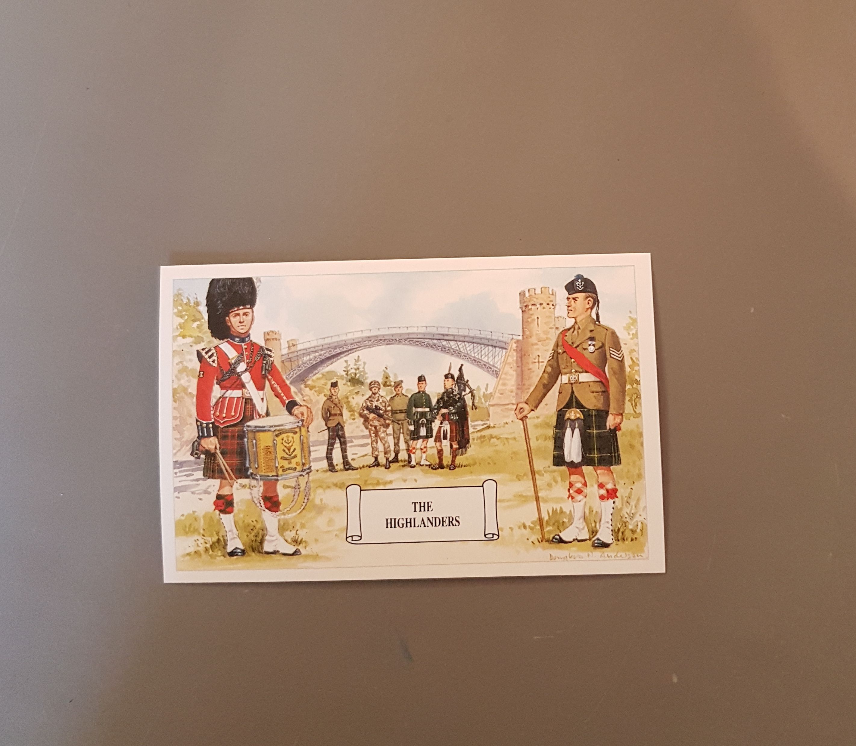 The Highlanders Postcard