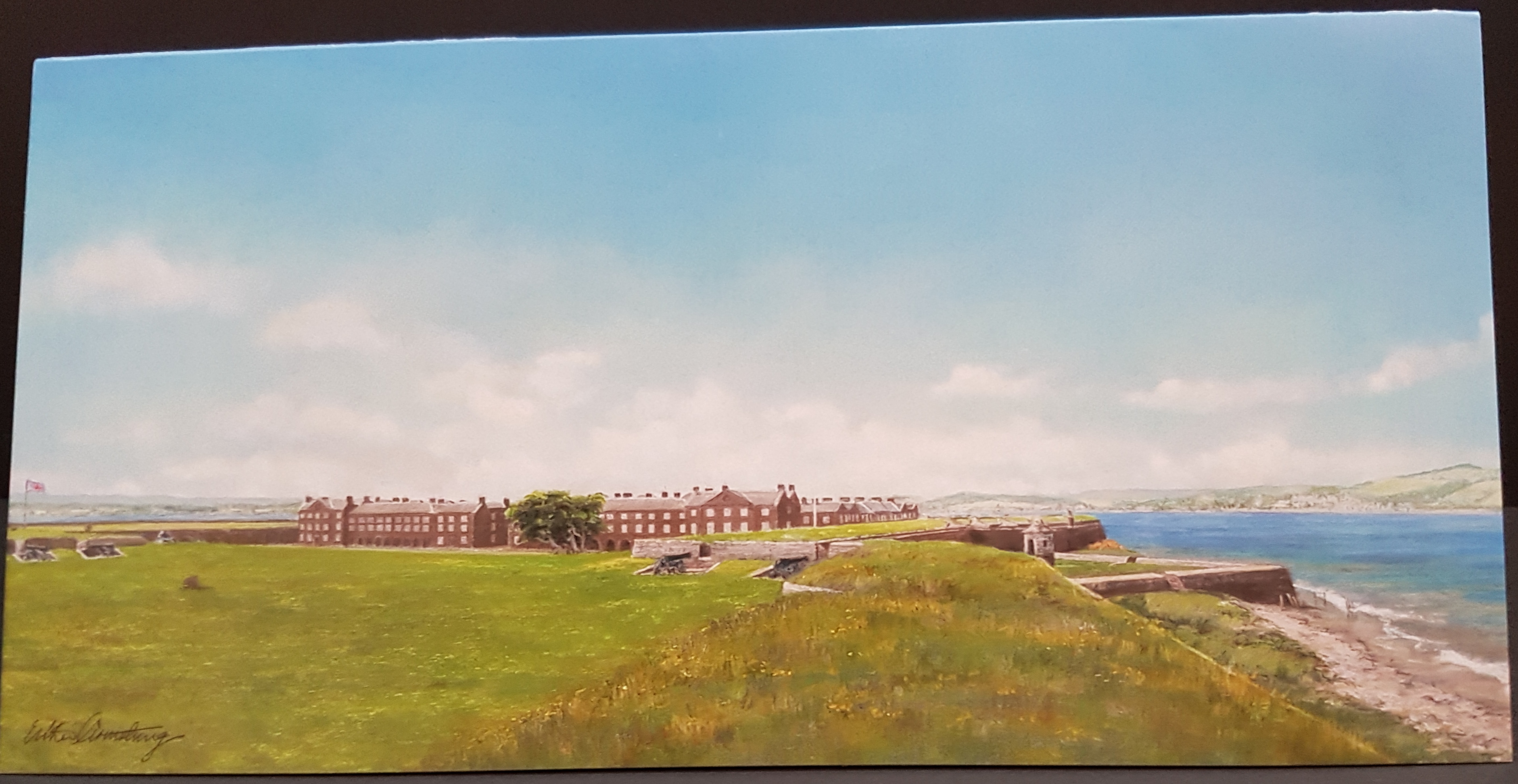 Fort George Christmas Card