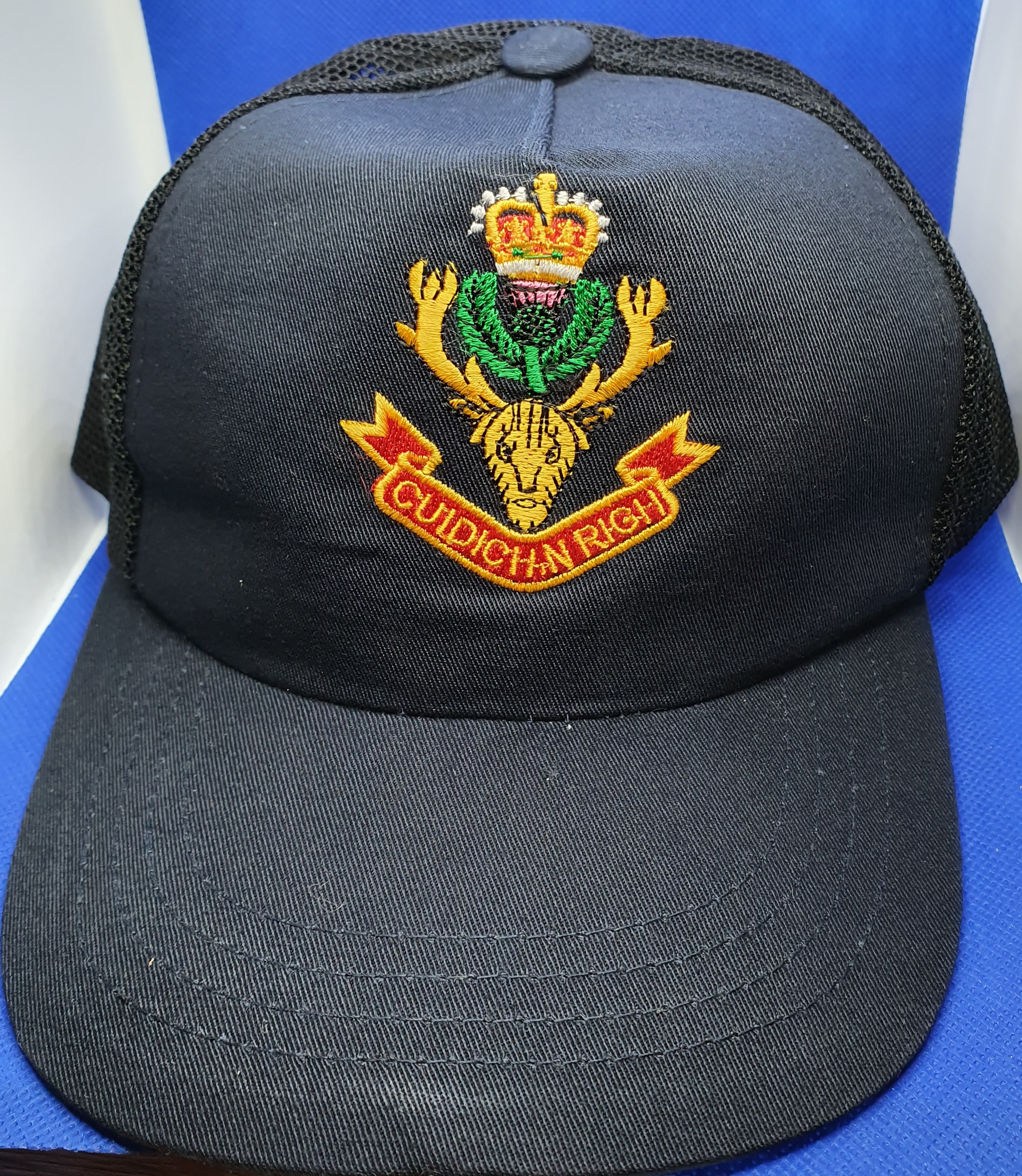 Queen's Own Highlanders Baseball Cap
