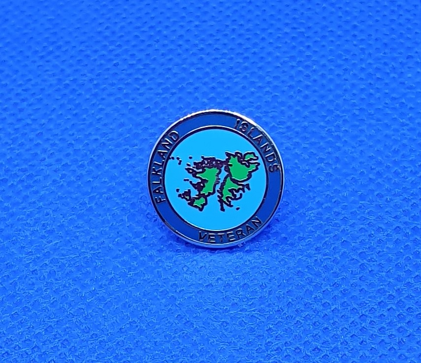 Falkland Islands Lapel Pin