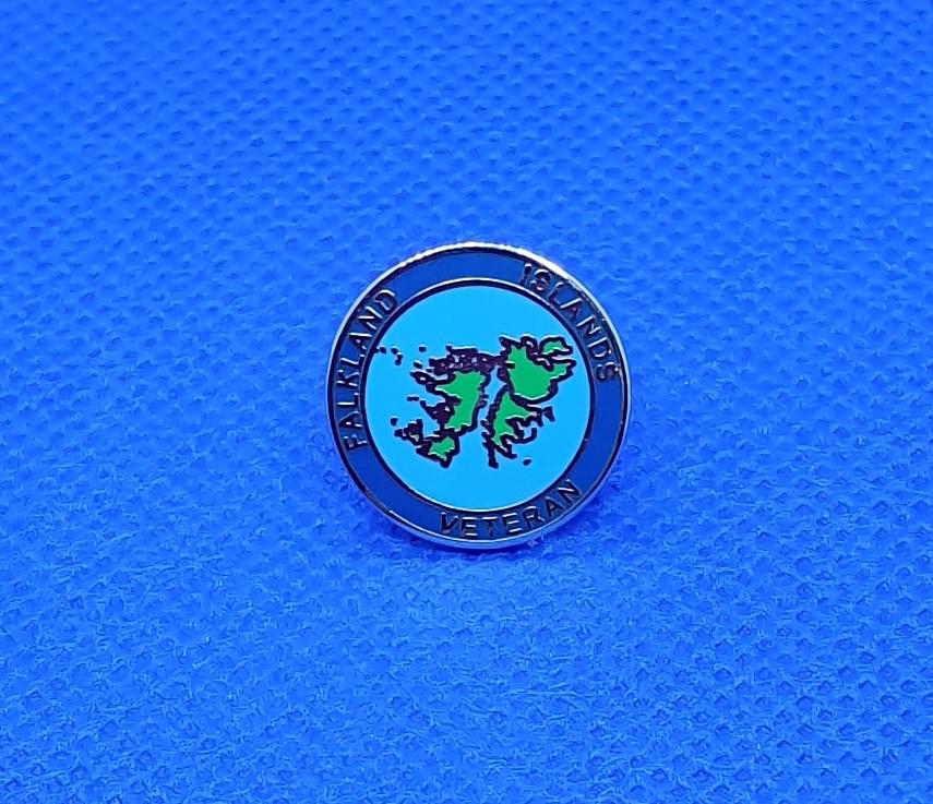 Falkland Islands Lapel Pin