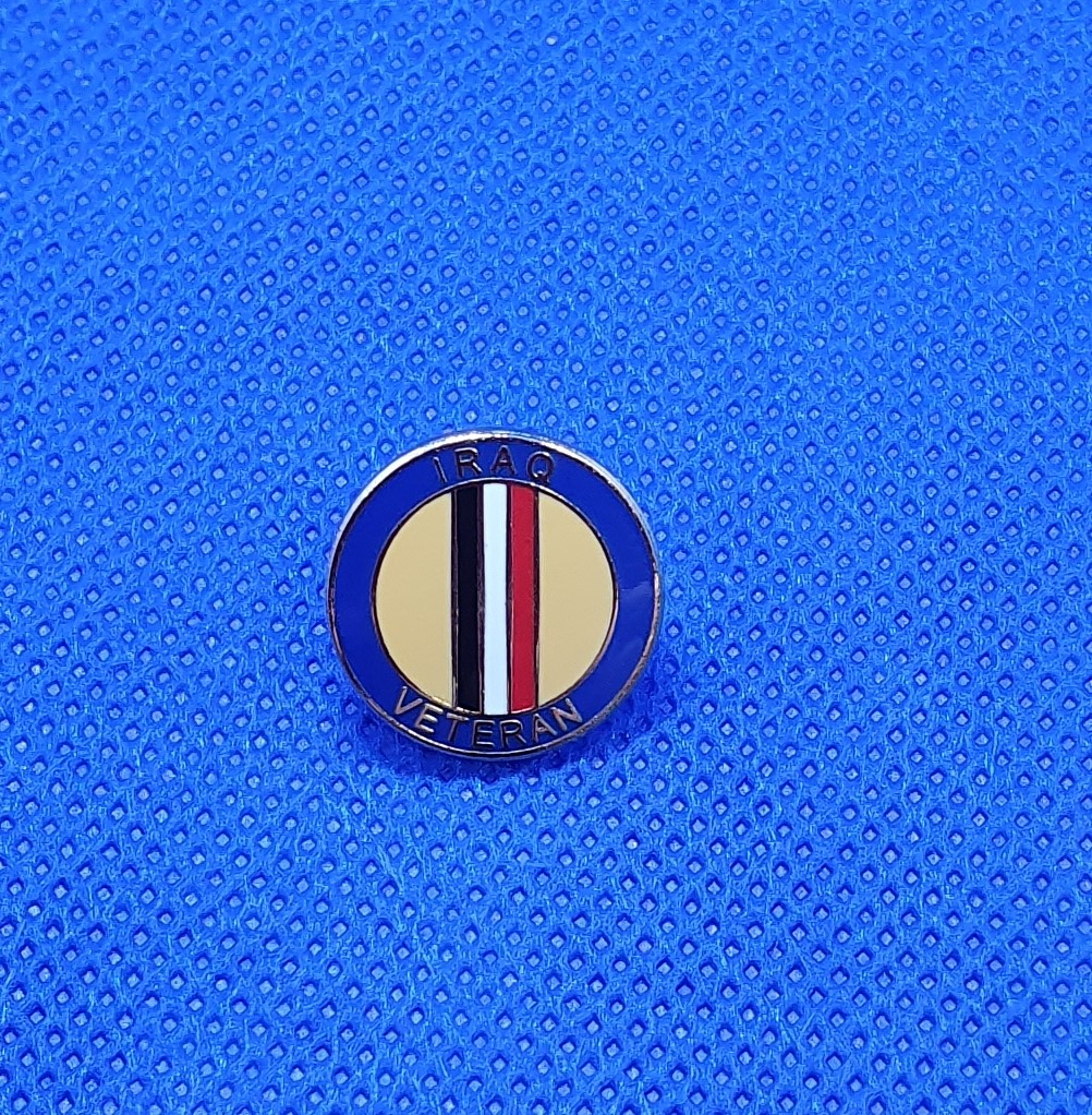 Iraq Veteran Lapel Pin