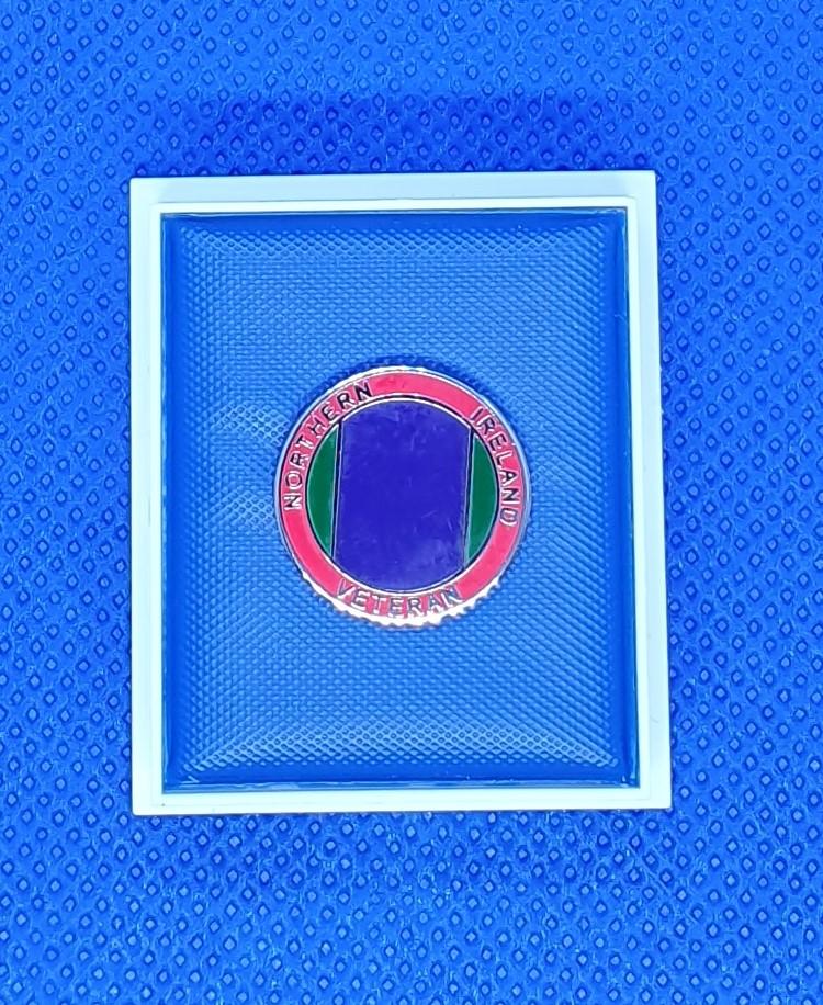 Northern Ireland Veteran Lapel Pin