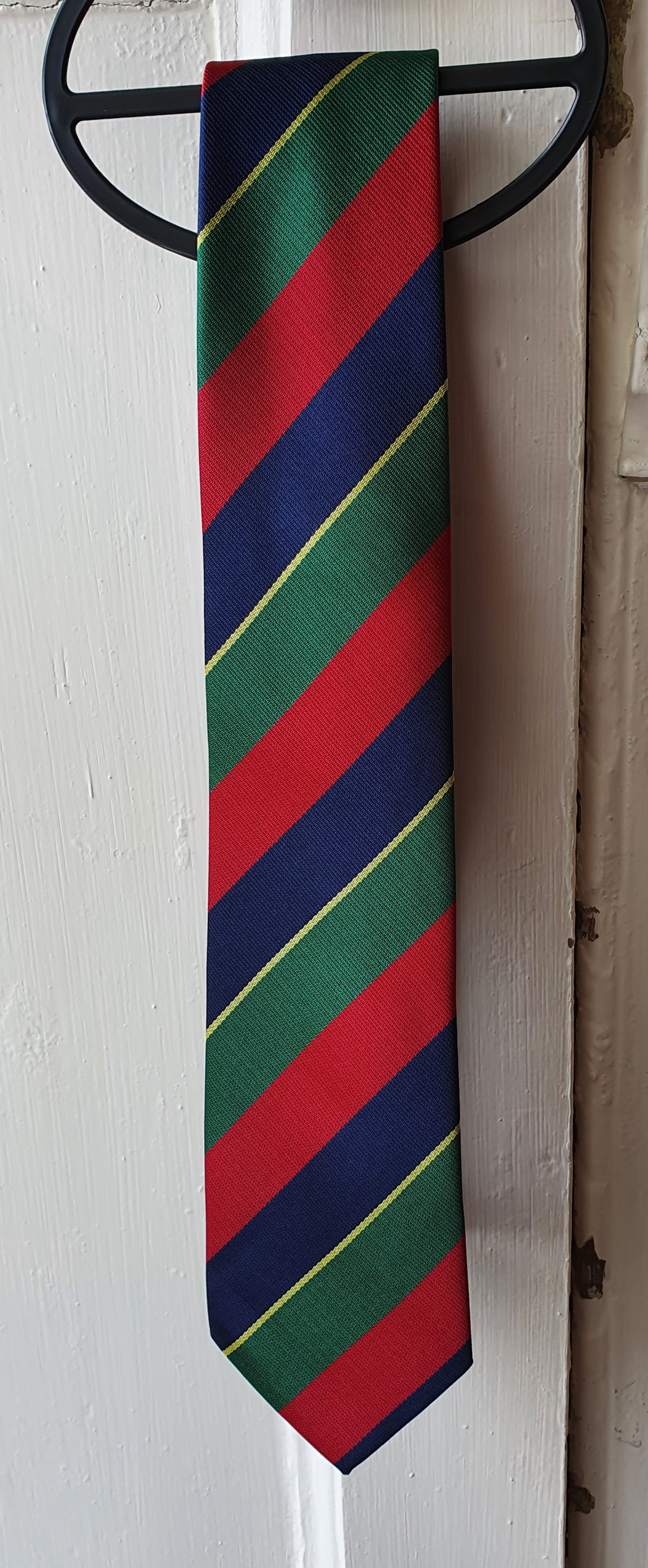 The Queens Own Cameron Highlanders Regimental Tie