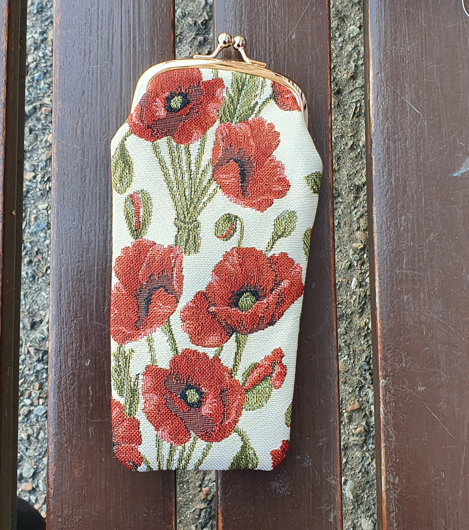 Poppy Glasses Pouch