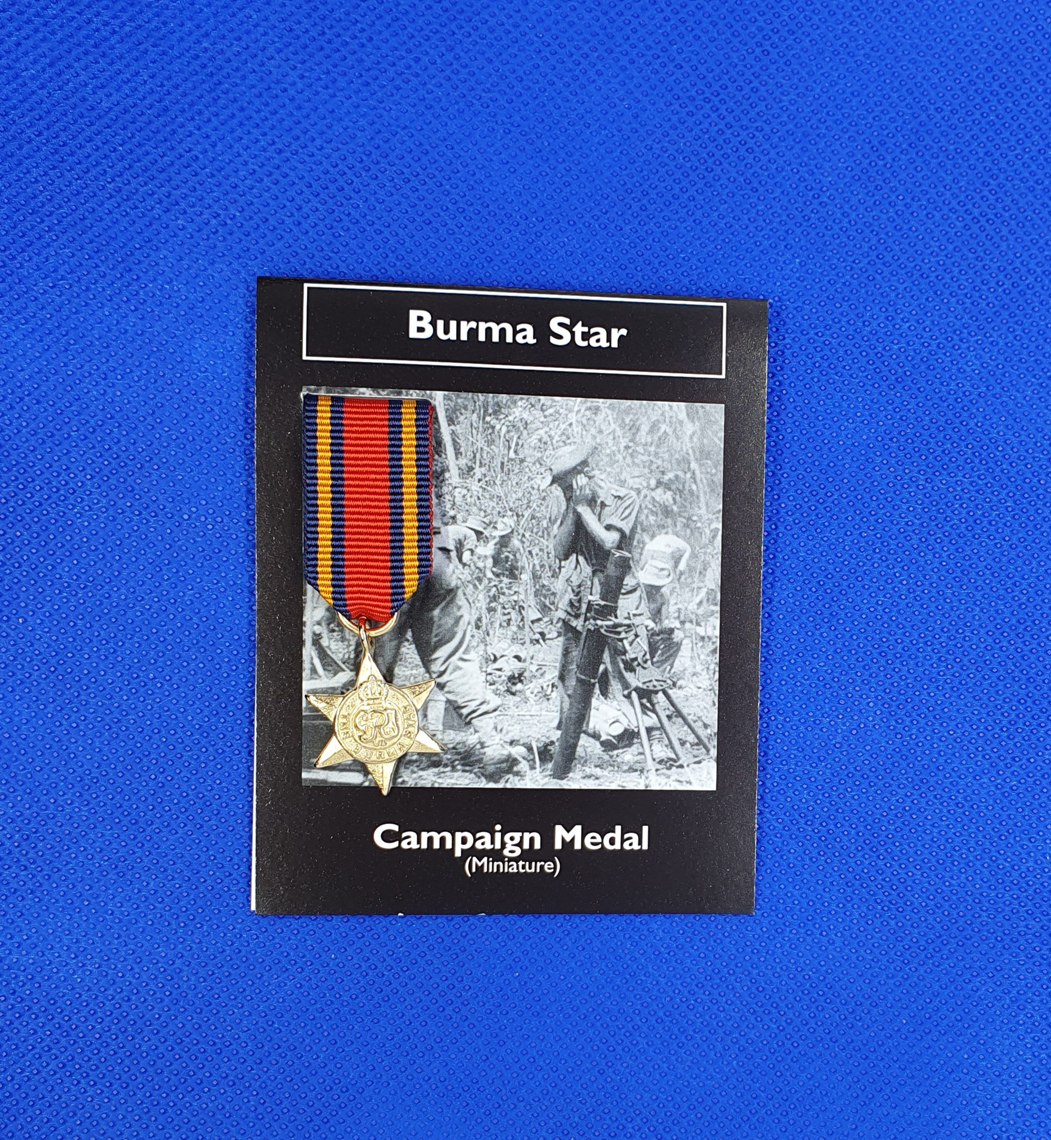 Burma Star - miniature